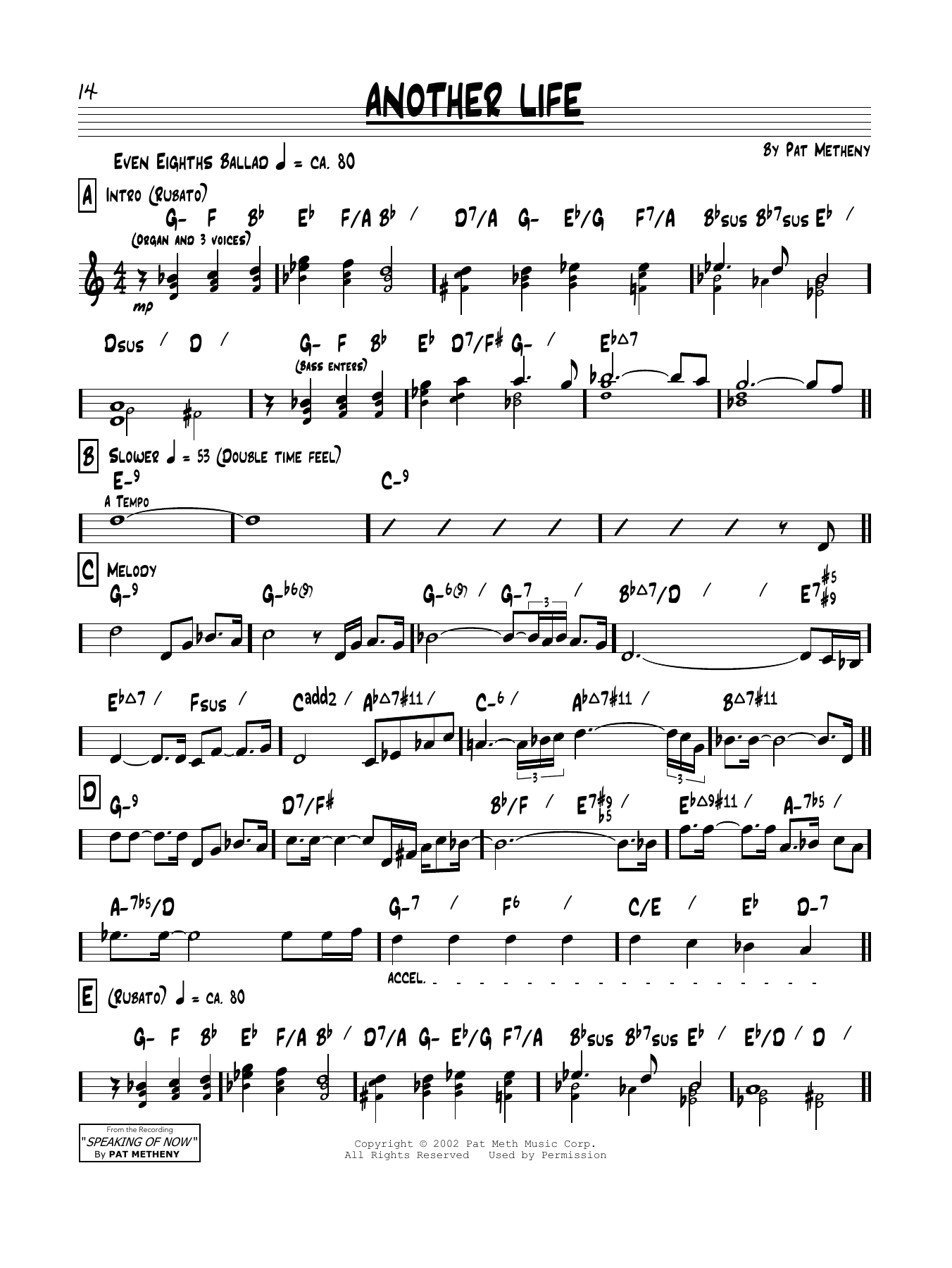 Another Life Sheet Music