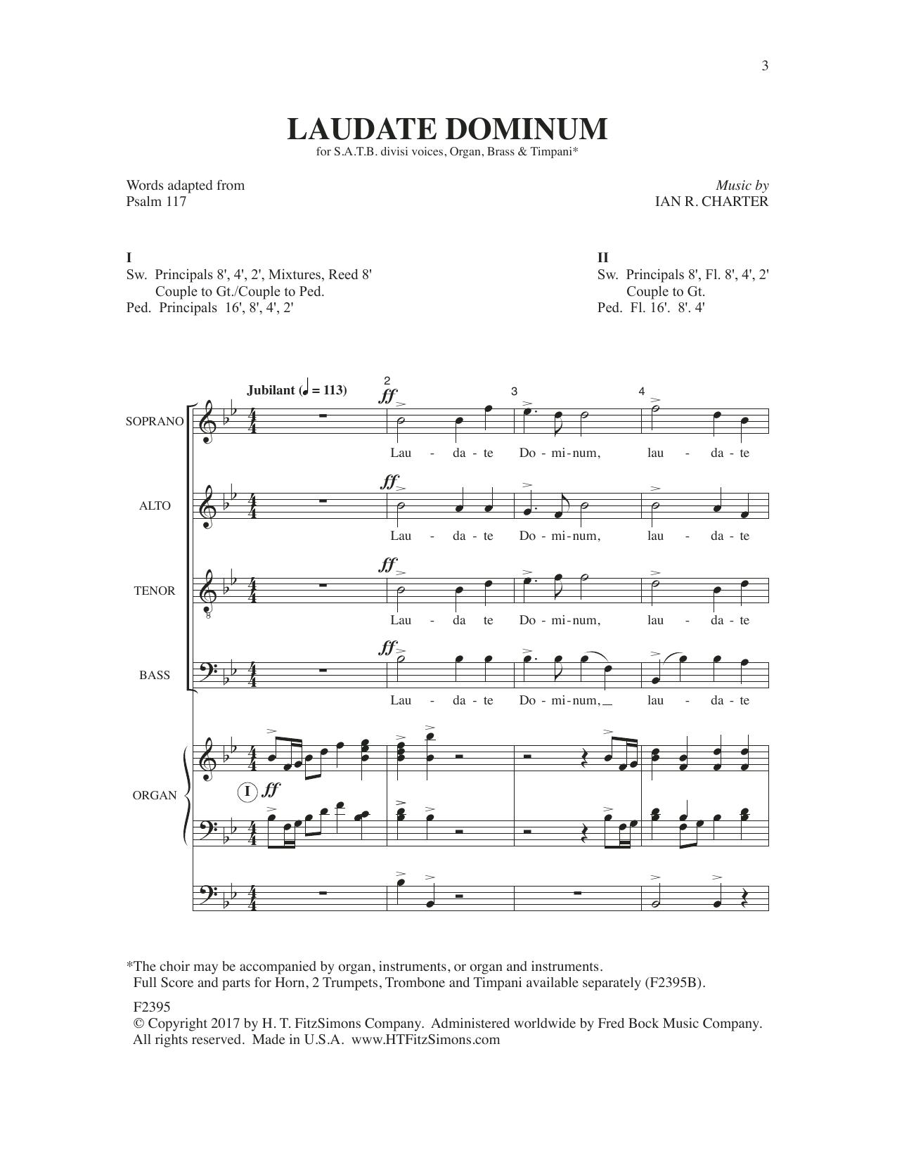 Laudate Dominum Sheet Music