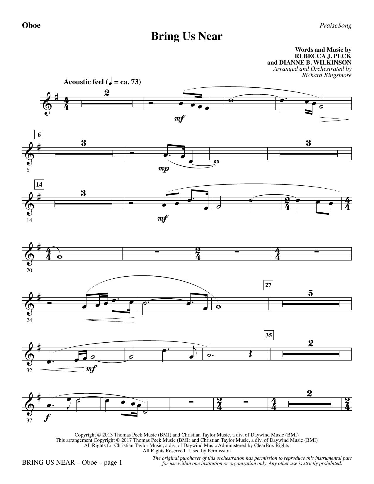 Bring Us Near - Oboe (Choir Instrumental Pak)