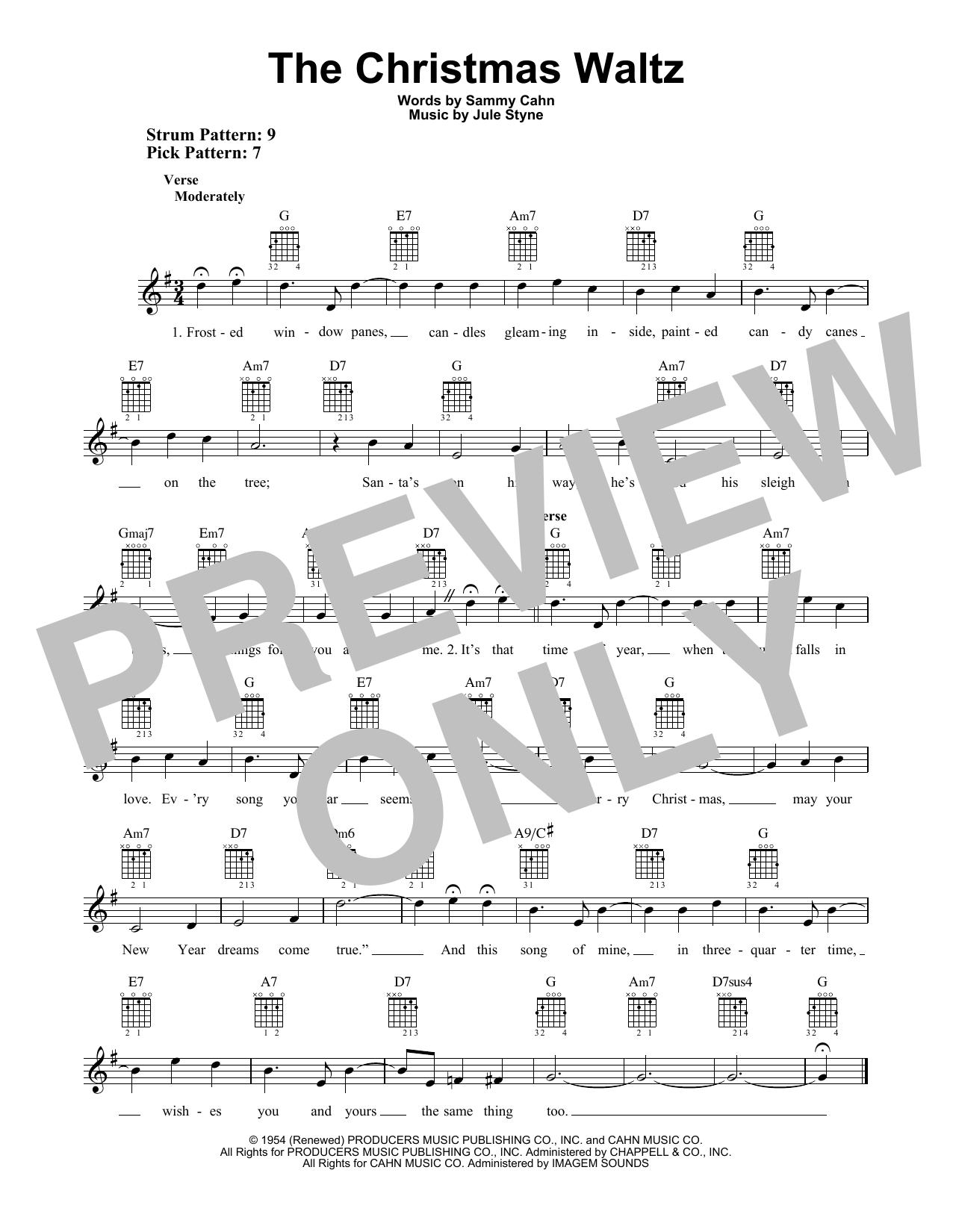The Christmas Waltz (Easy Guitar)