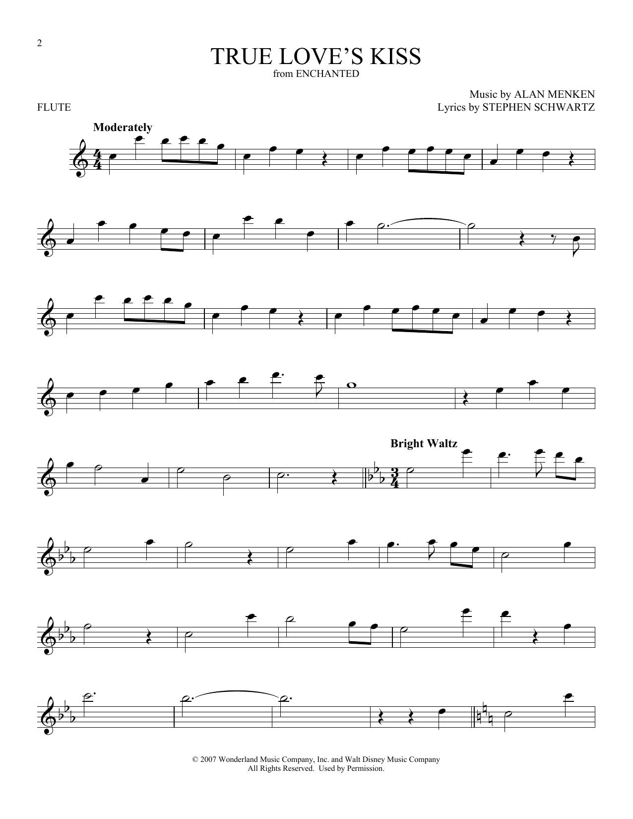 True Love's Kiss (Flute Solo)
