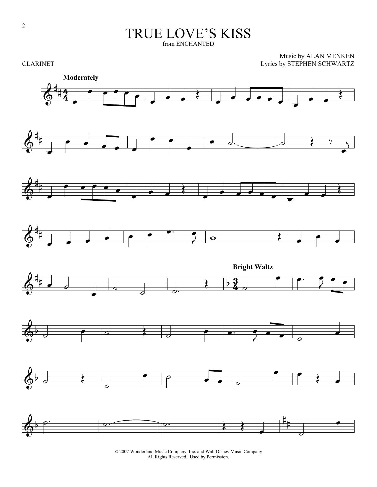 True Love's Kiss (Clarinet Solo)