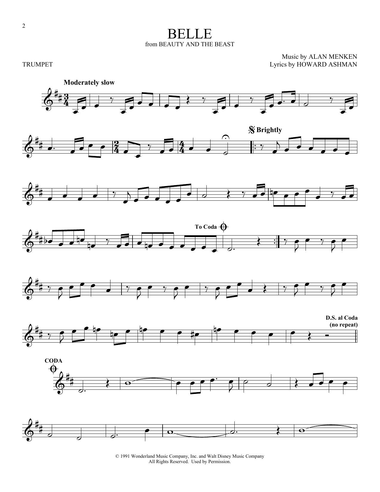 Belle (Trumpet Solo)