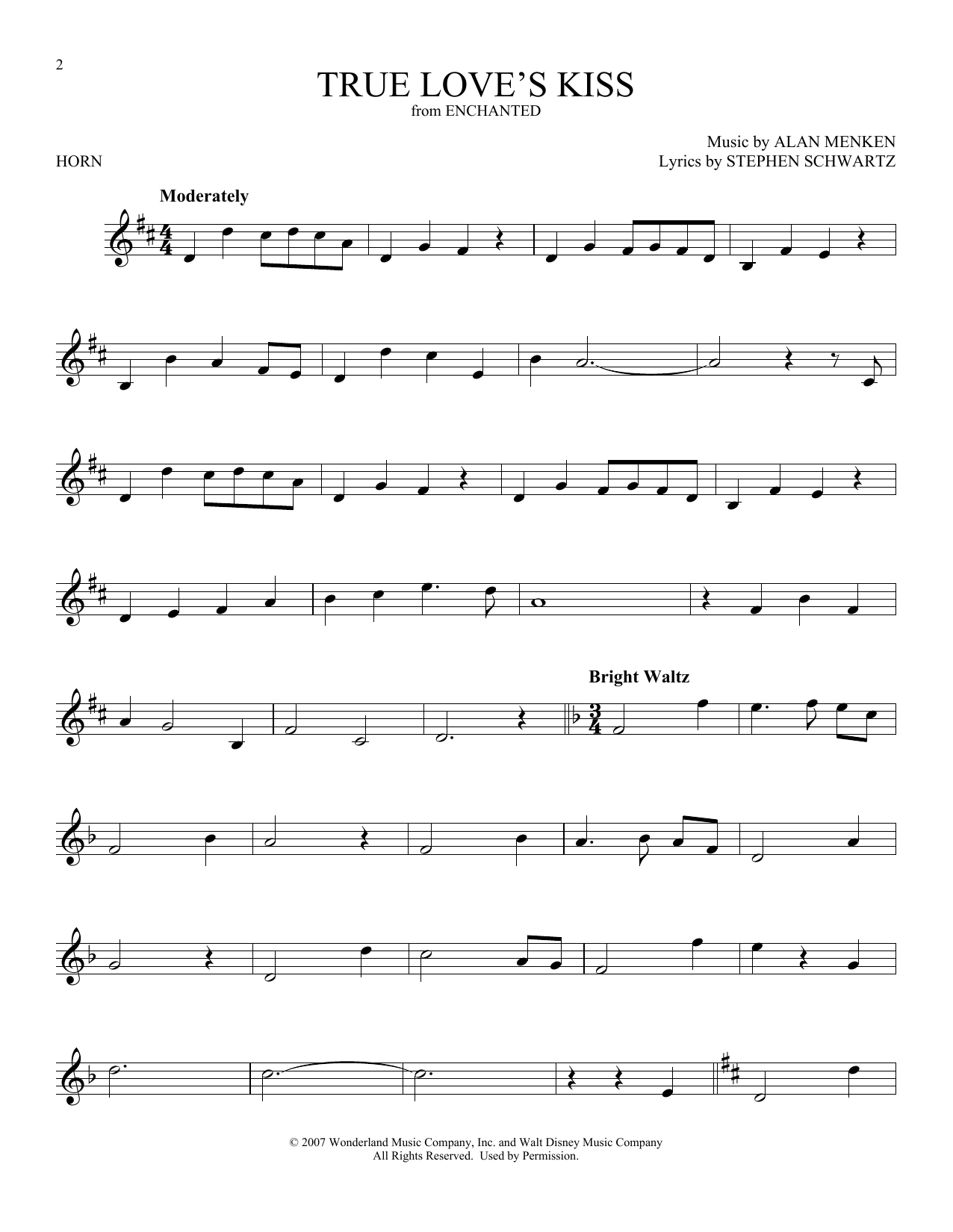True Love's Kiss (French Horn Solo)