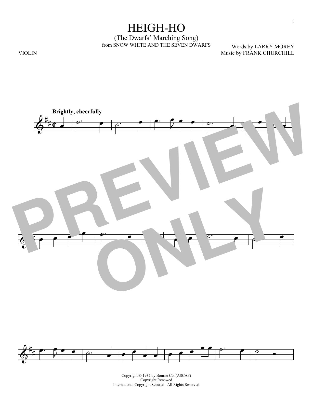 Heigh-Ho (Violin Solo)
