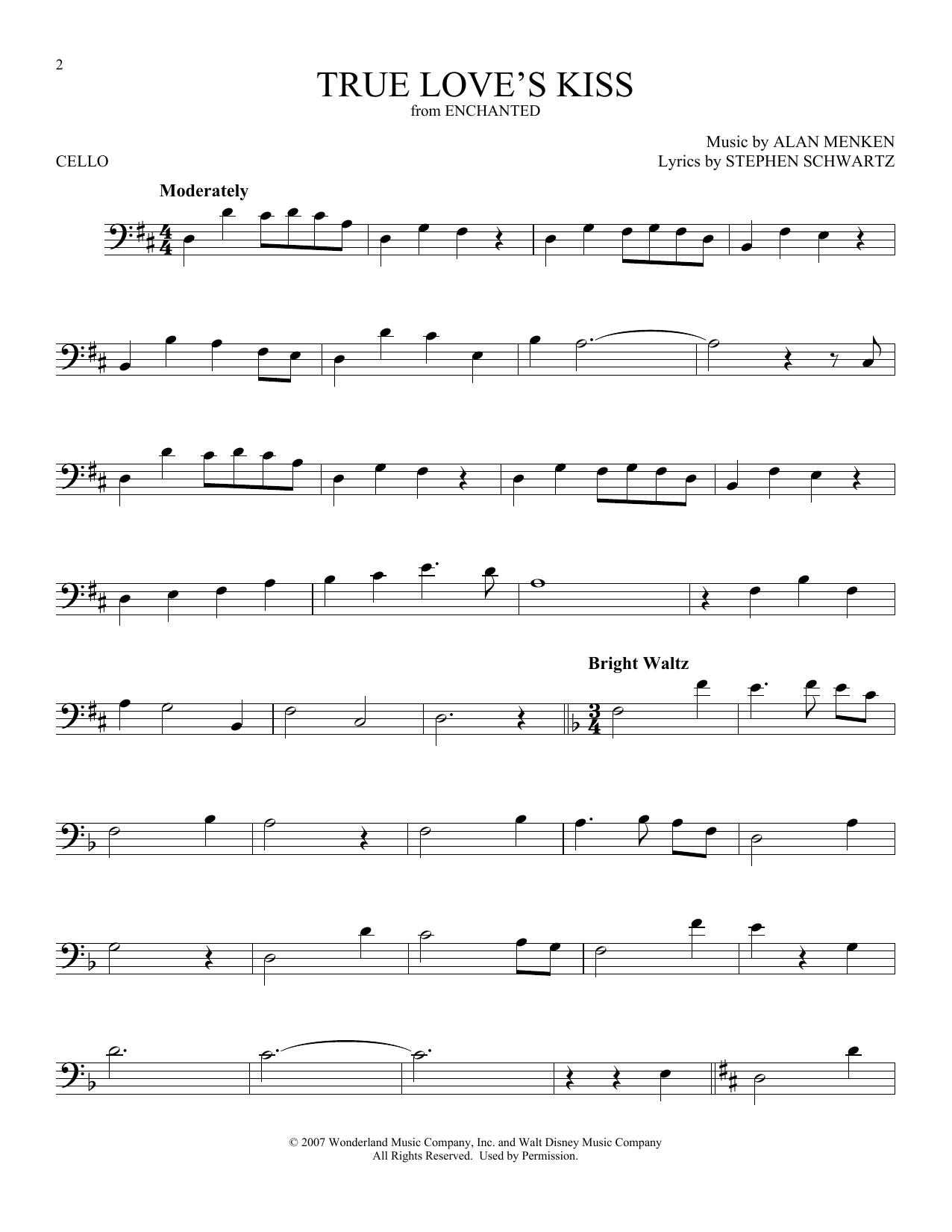 True Love's Kiss (Cello Solo)