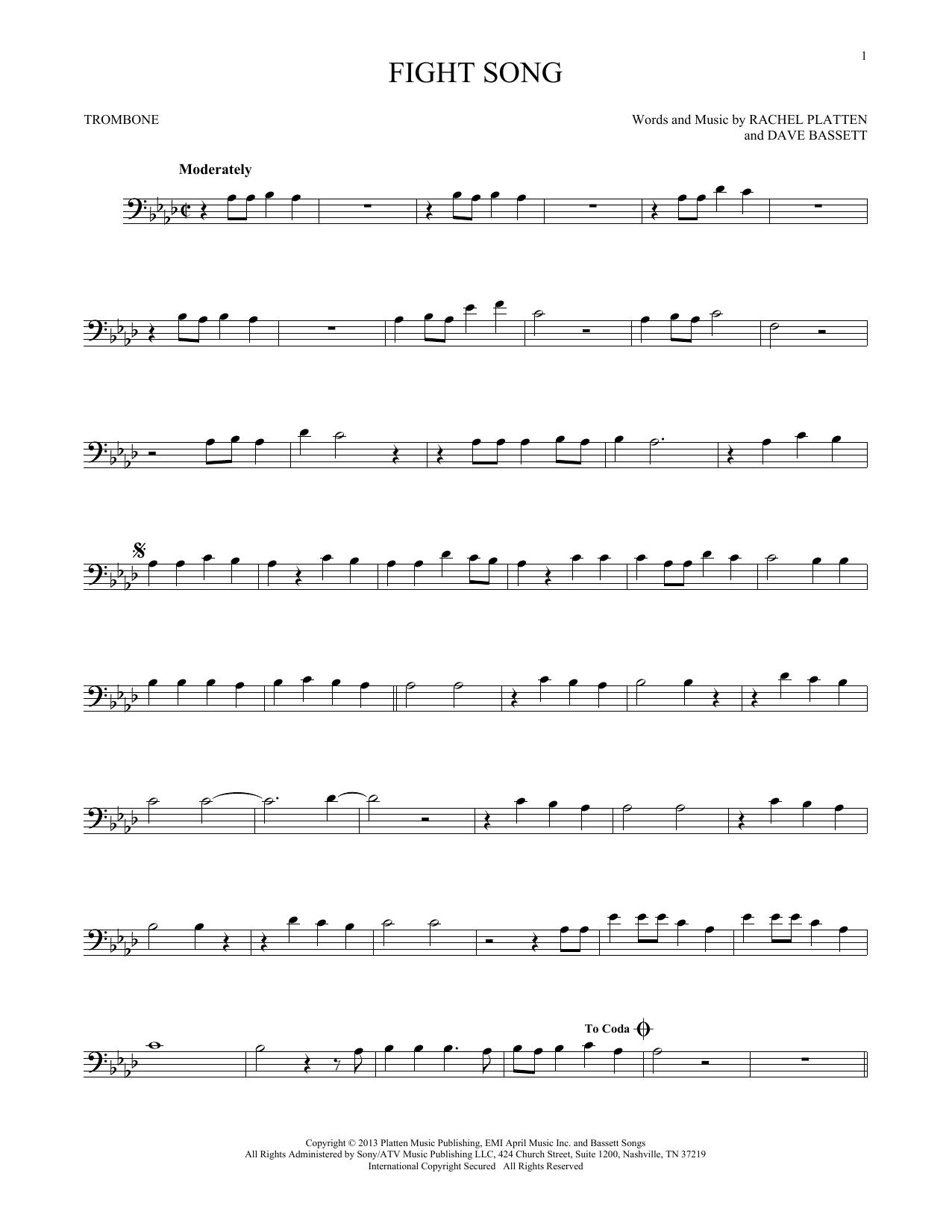 Fight Song (Trombone Solo)