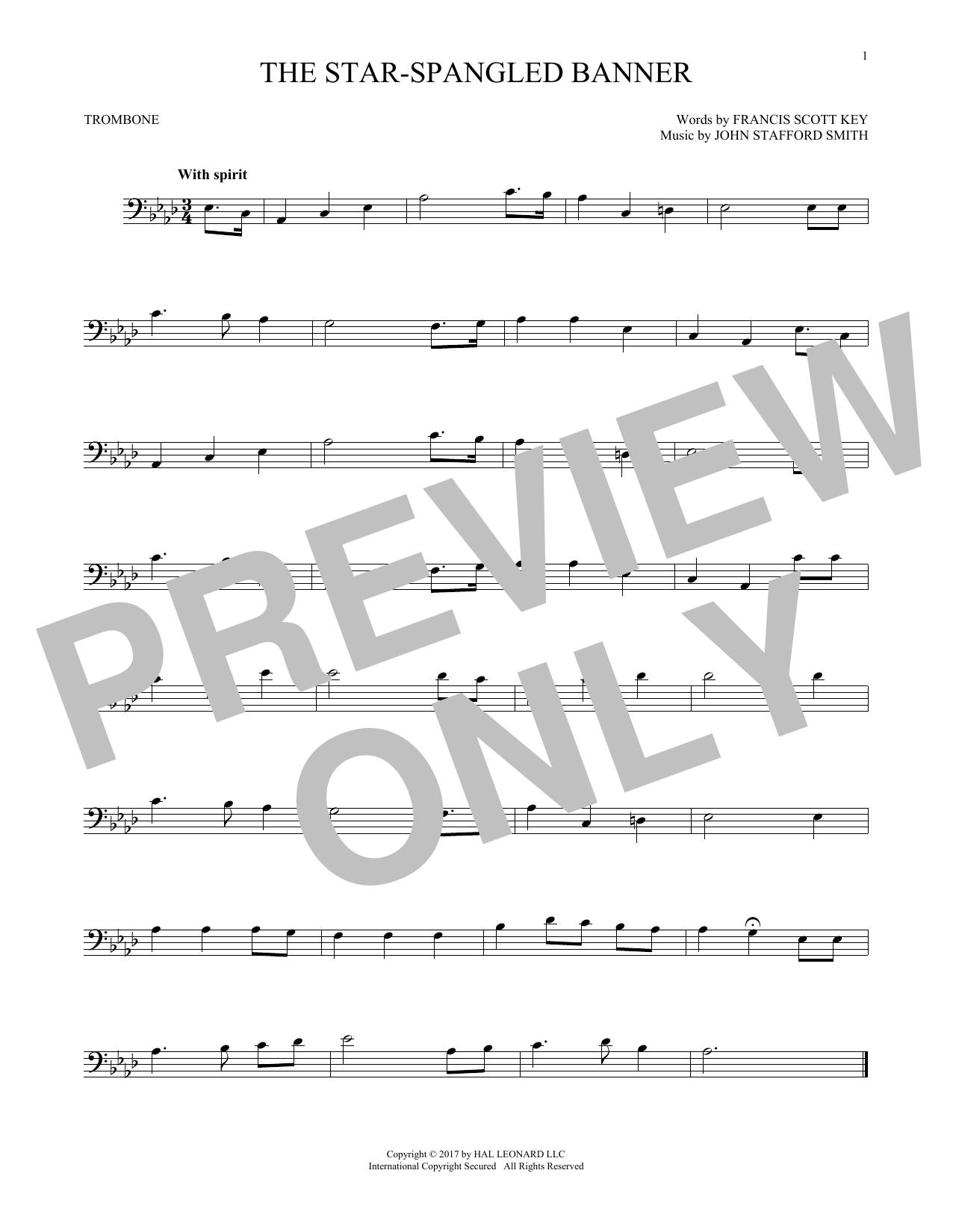 The Star-Spangled Banner (Trombone Solo)