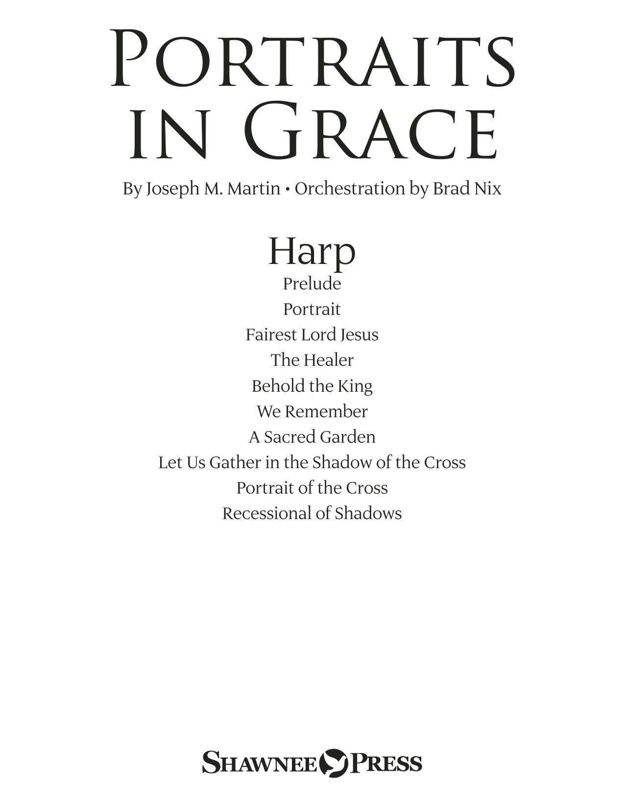Portraits in Grace - Harp (Choir Instrumental Pak)