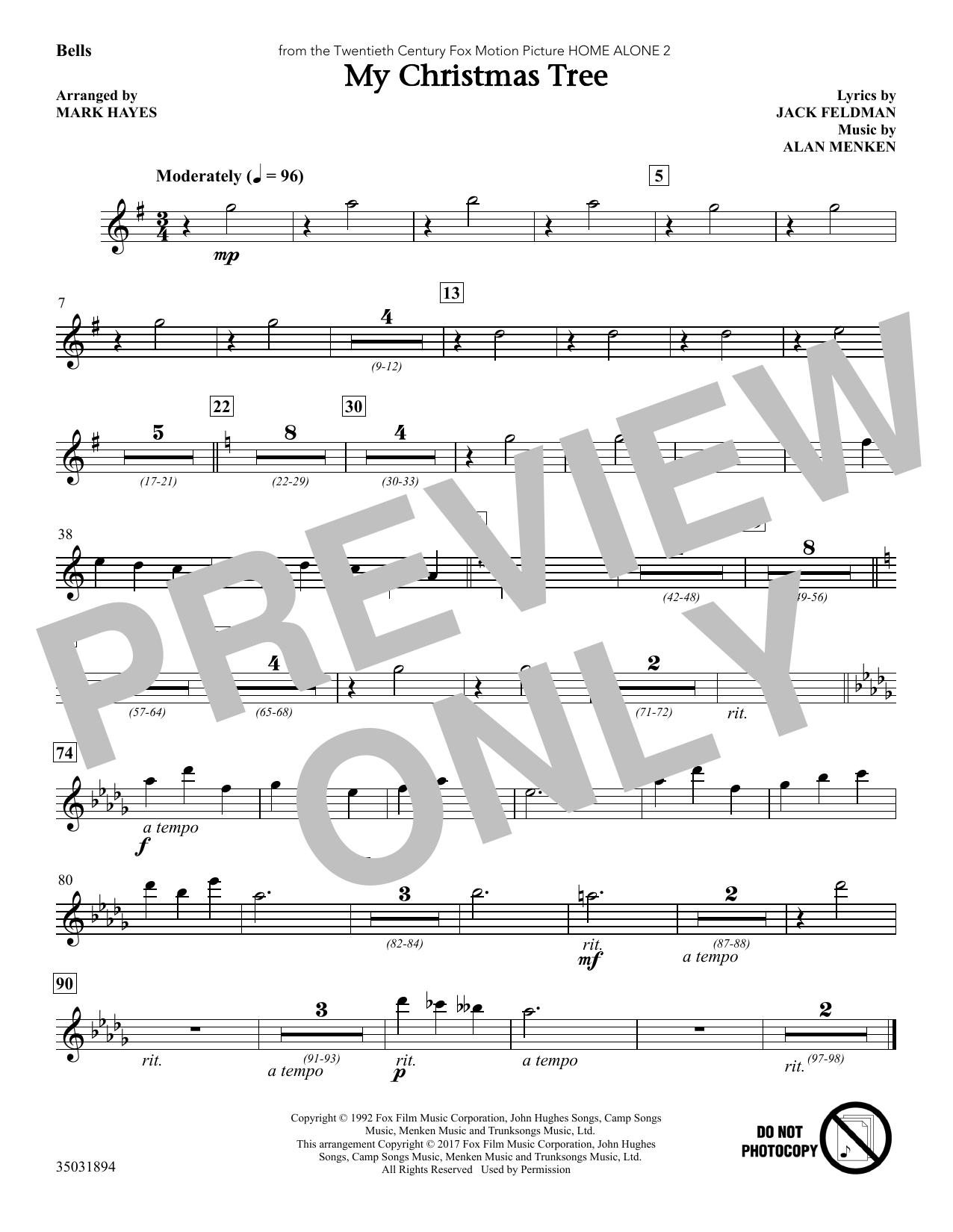 My Christmas Tree - Bells (Choir Instrumental Pak)