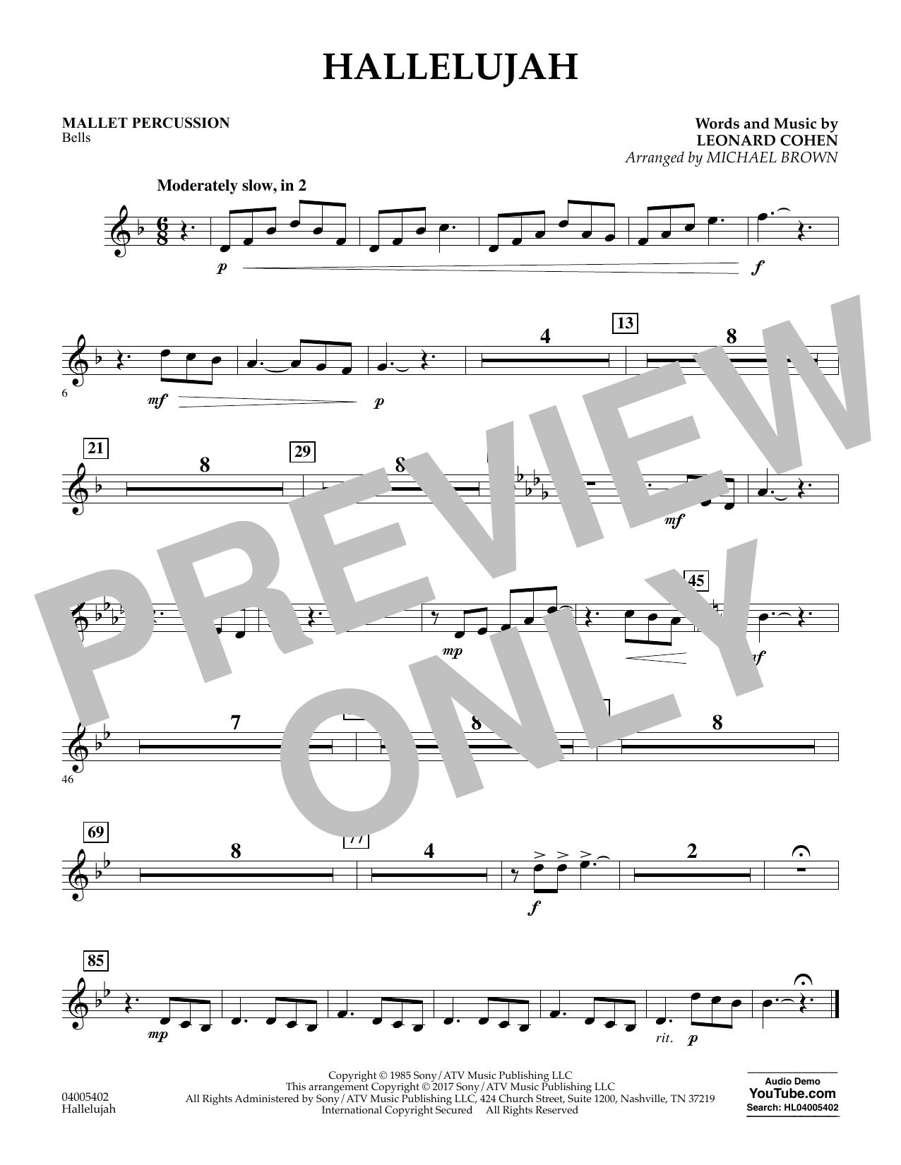 Hallelujah - Mallet Percussion (Flex-Band)