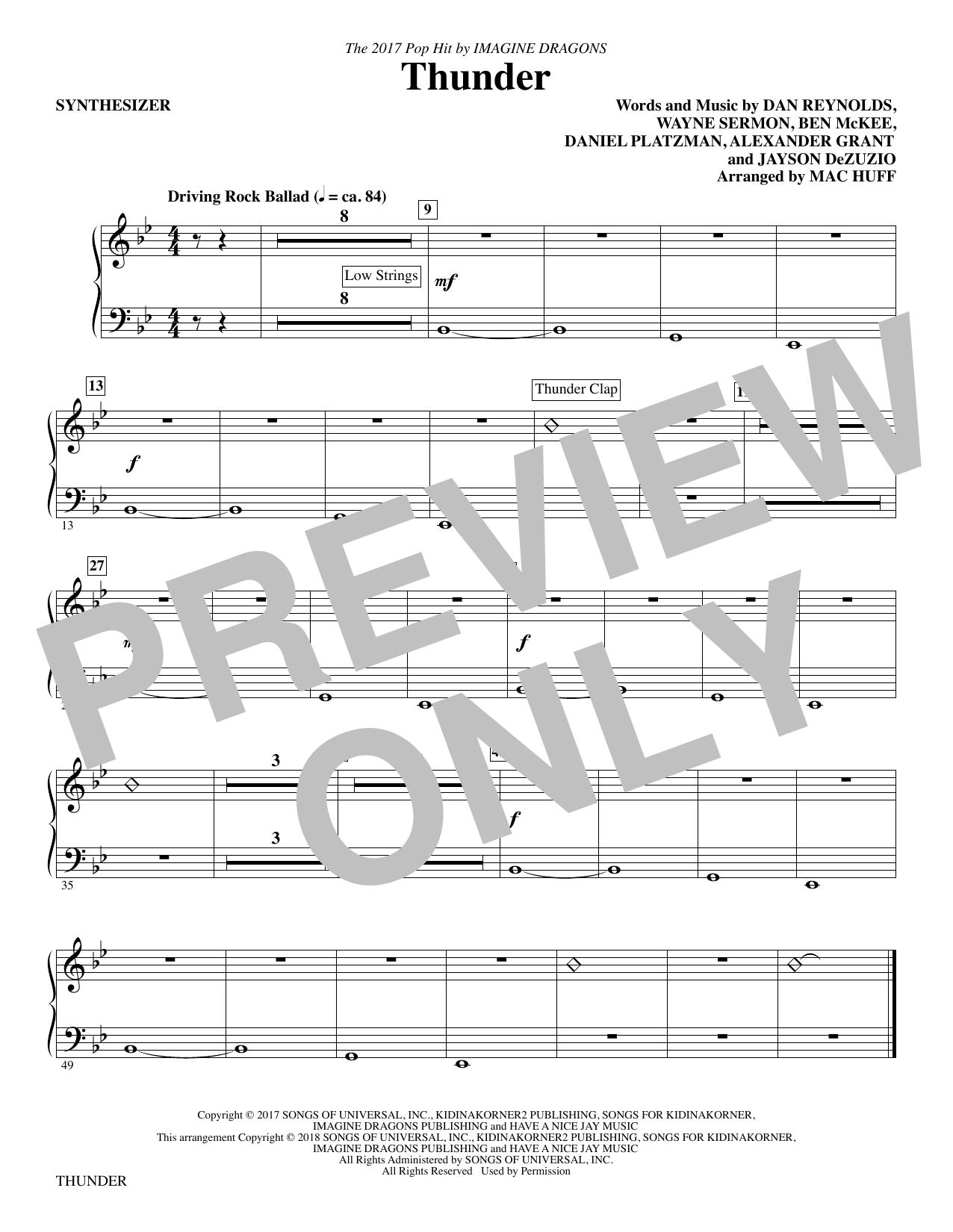 Thunder - Synthesizer (Choir Instrumental Pak)