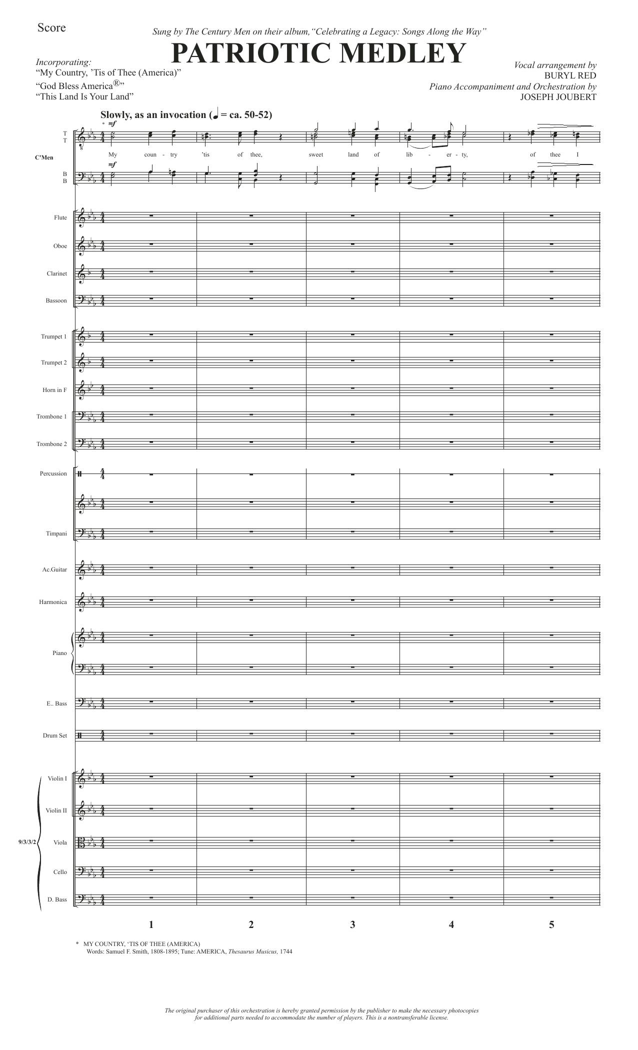 Patriotic Medley - Full Score Sheet Music