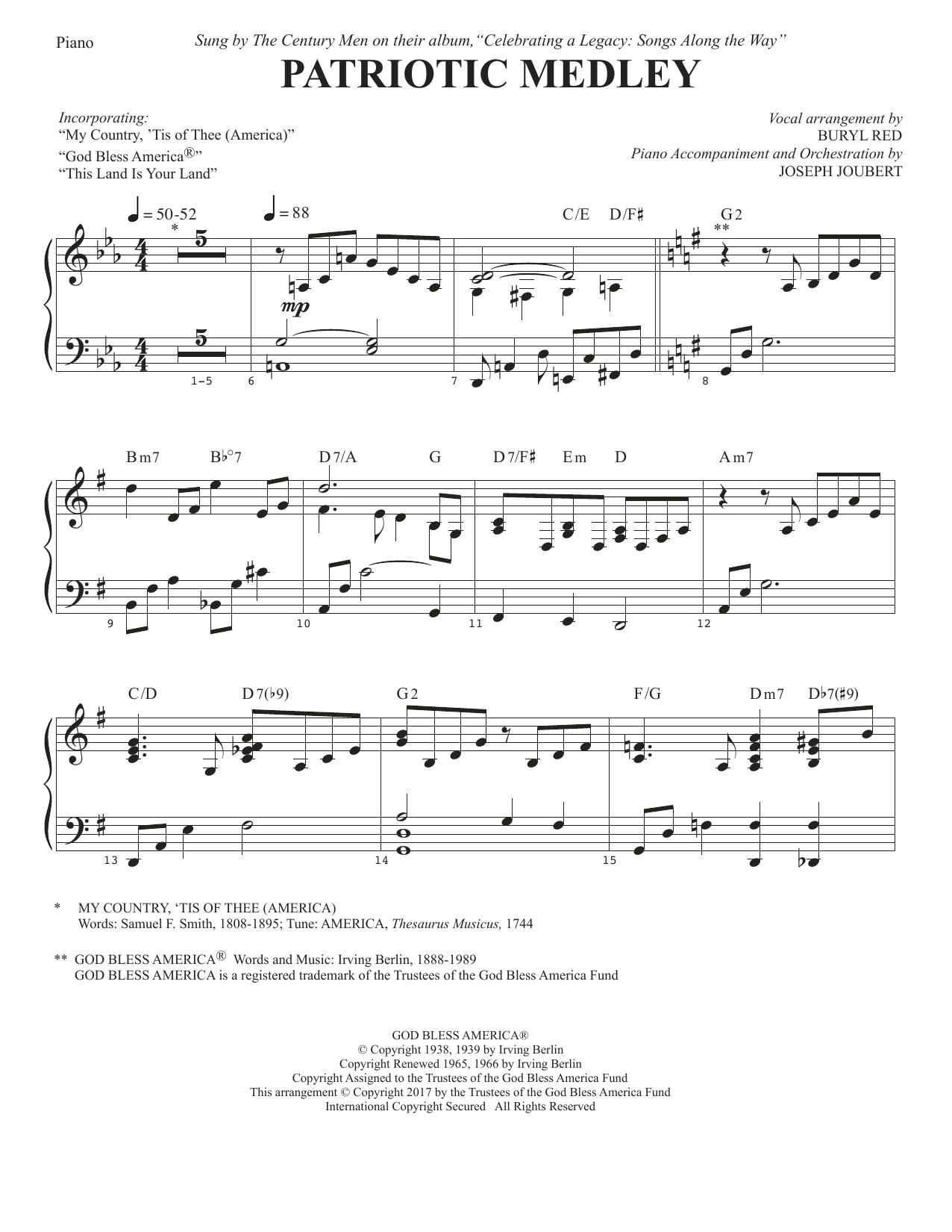 Patriotic Medley - Piano (Choir Instrumental Pak)