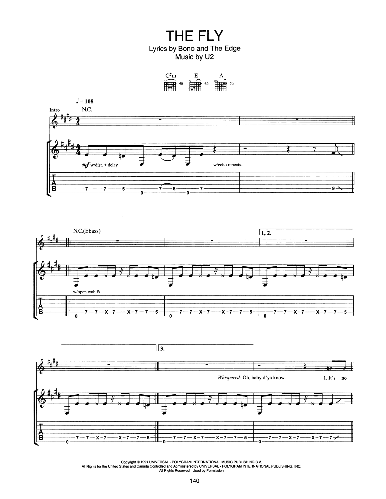 The Fly Sheet Music