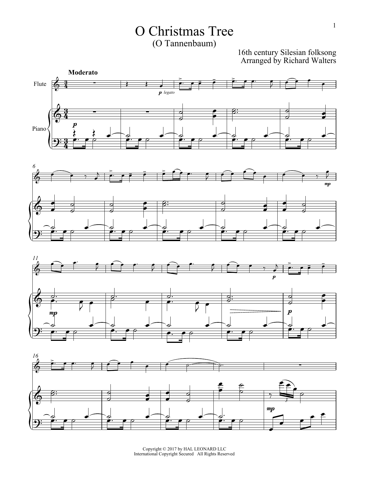 Christmas Songs for Classical Players - Flute and Piano - Flute ...