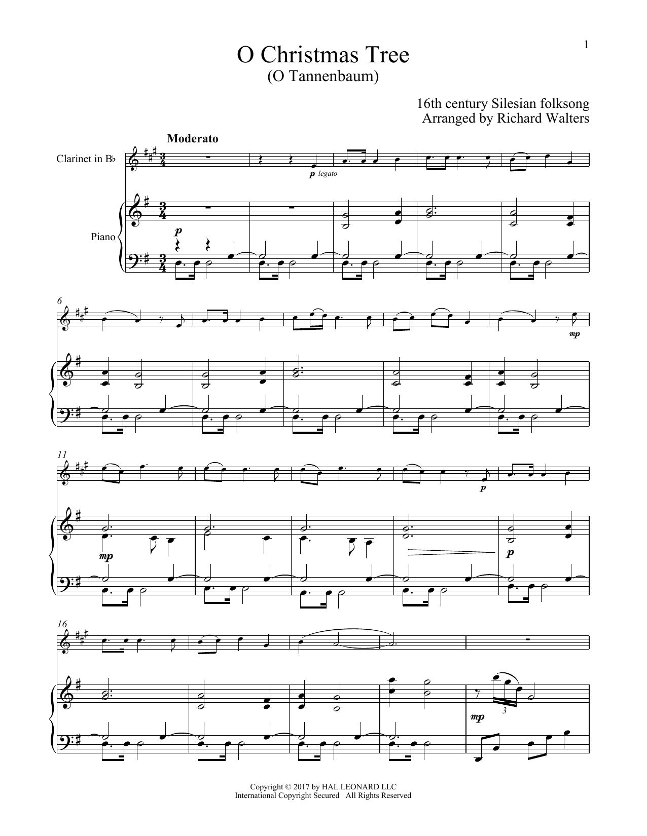 O Christmas Tree - Print Sheet Music Now