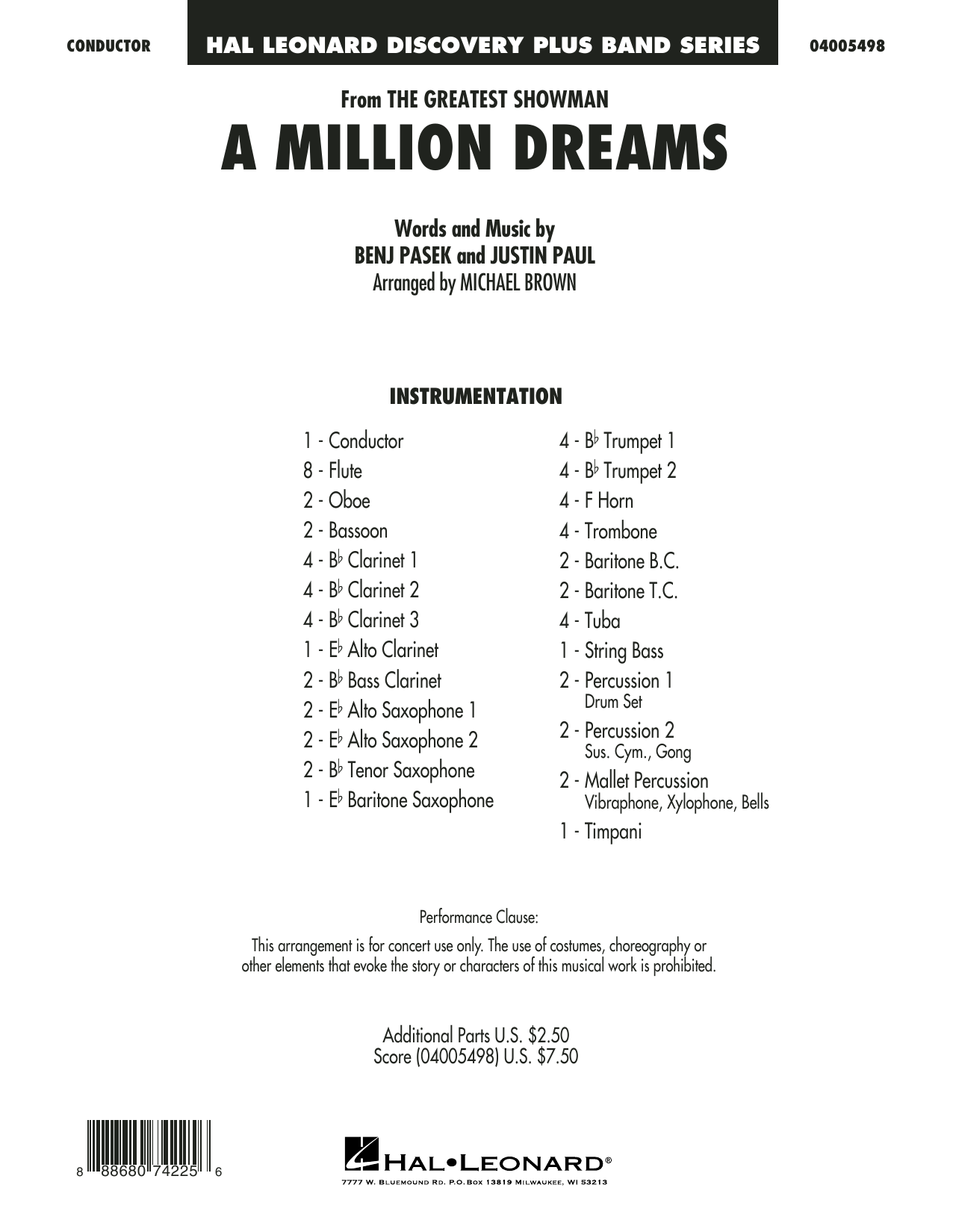 photo relating to A Million Dreams Lyrics Printable titled A Million Desires (towards The Major Showman) (arr. Michael