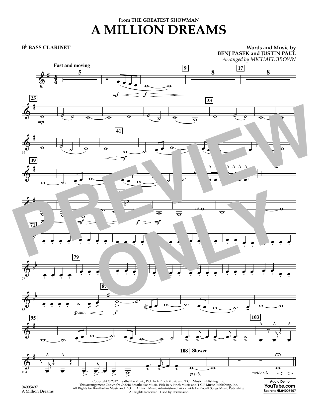 picture about A Million Dreams Lyrics Printable titled A Million Needs (towards The Major Showman) (arr. Michael