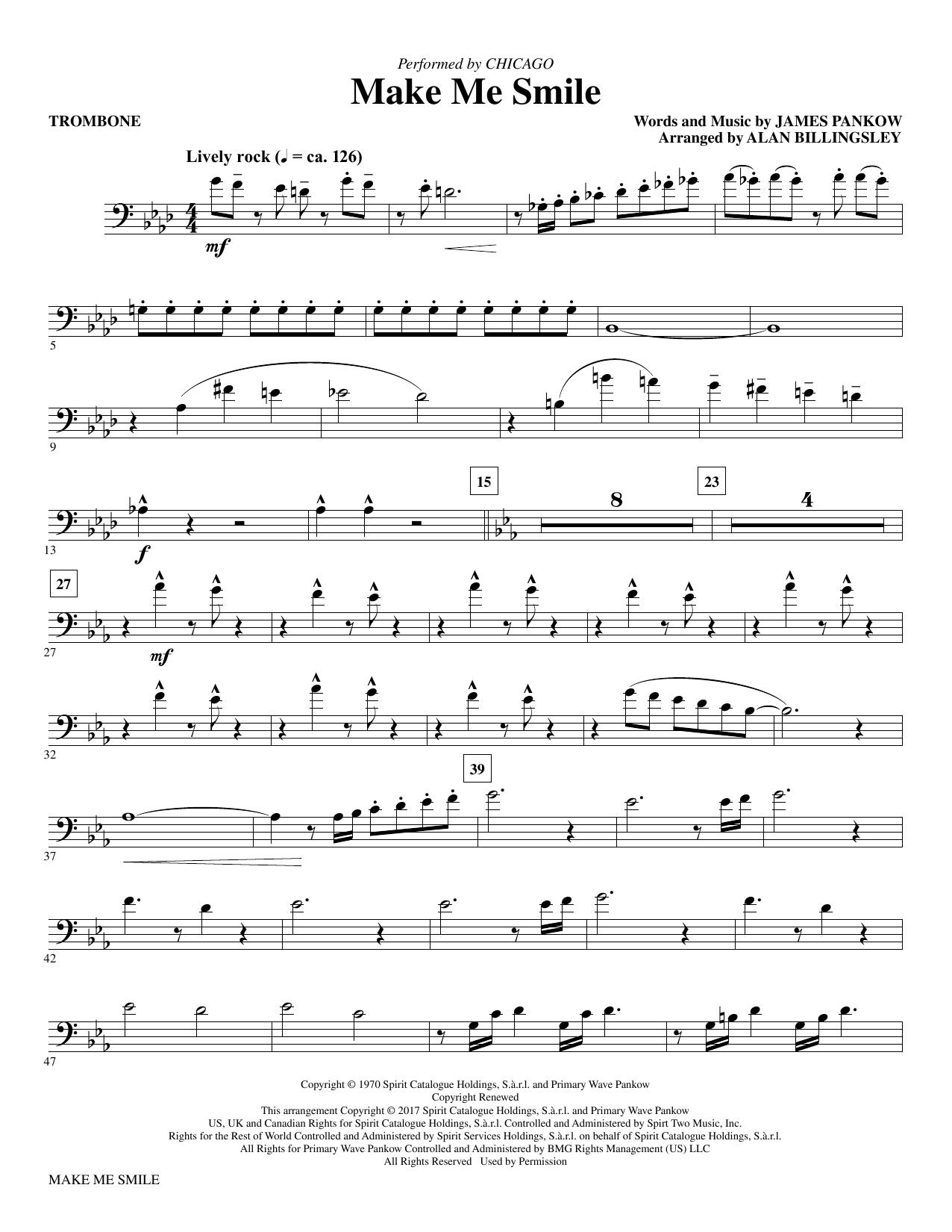 Make Me Smile - Trombone (Choir Instrumental Pak)