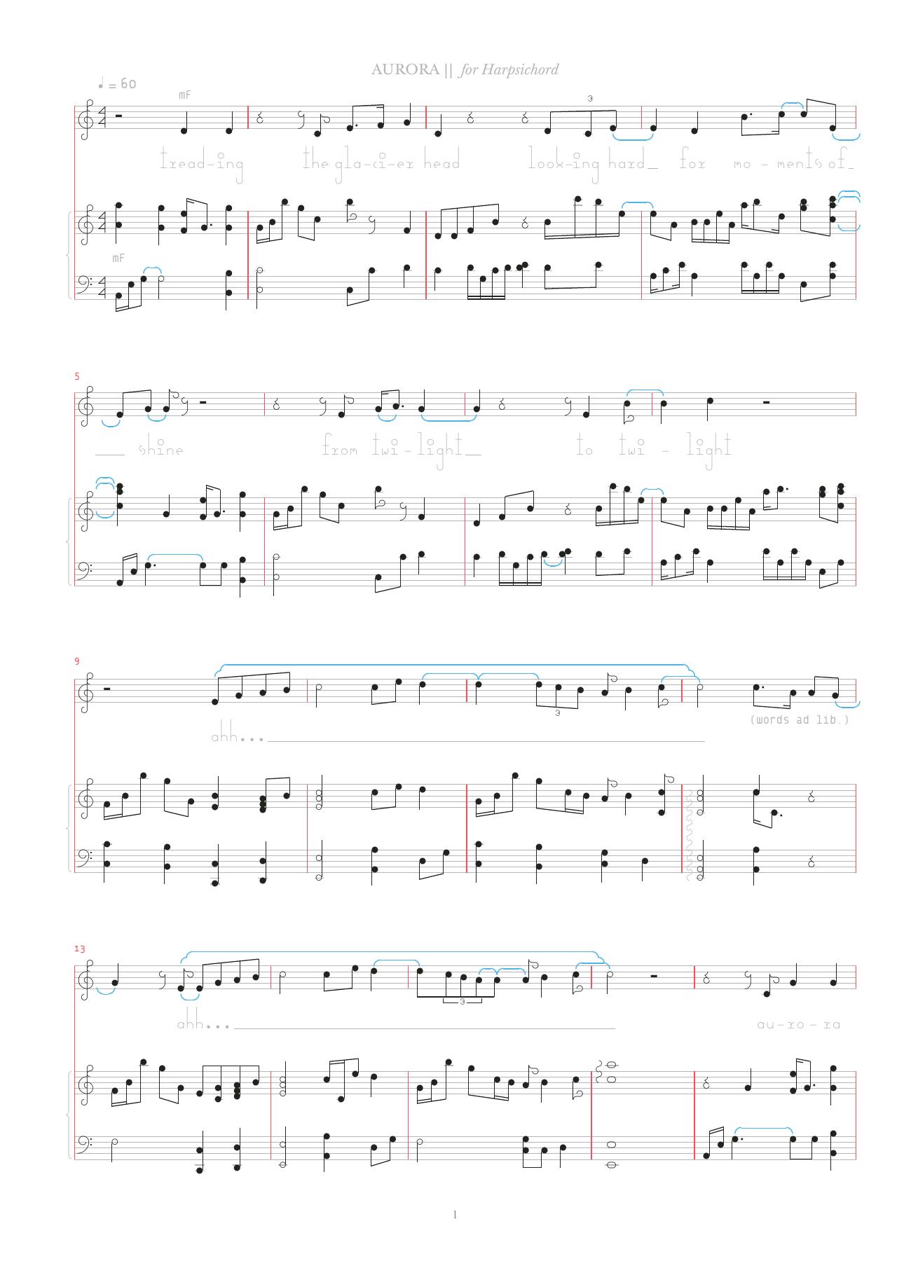 Aurora Sheet Music