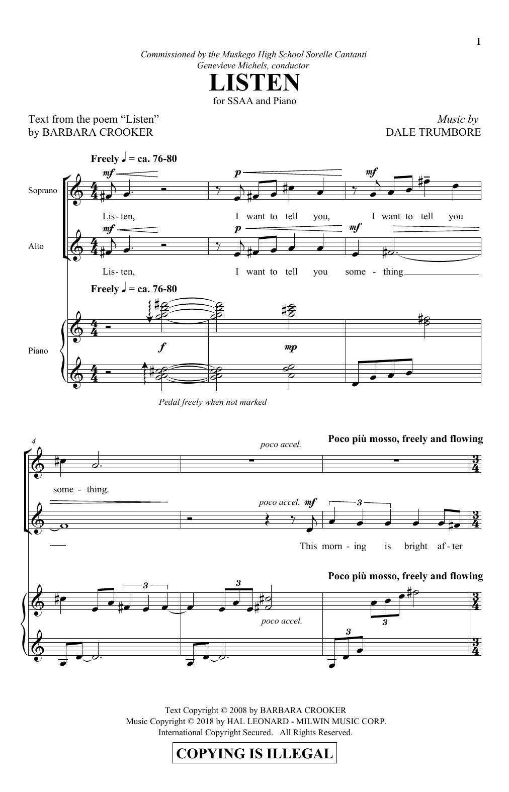Listen (SSA Choir)