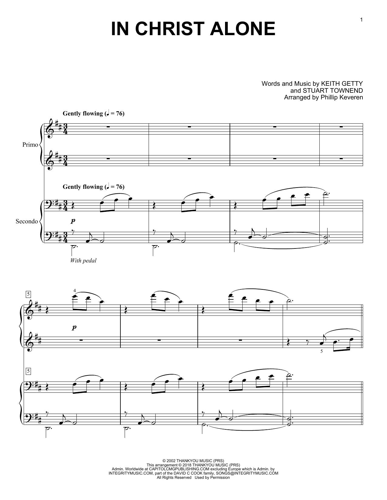 In Christ Alone (arr. Phillip Keveren) (Piano Duet)