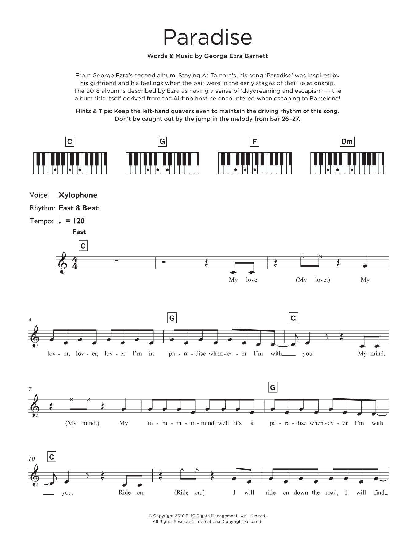 Paradise (Keyboard (Abridged))
