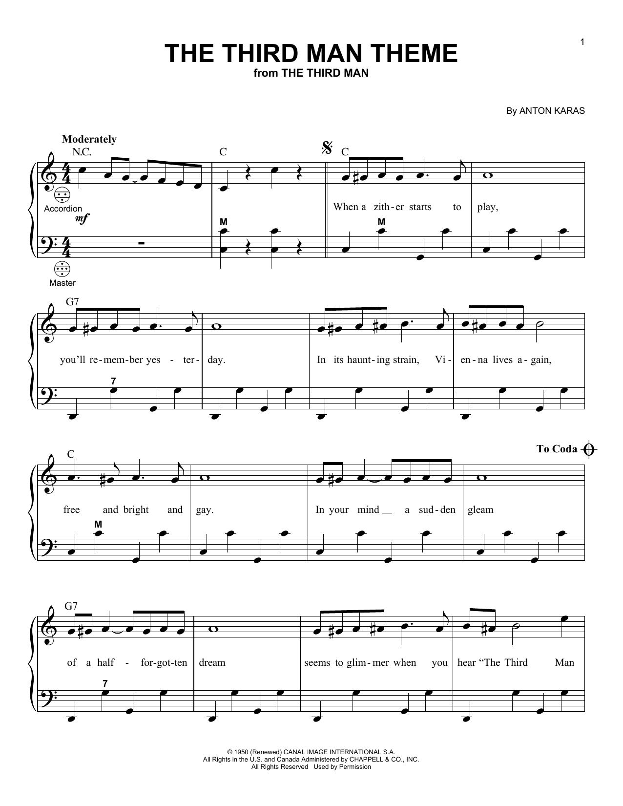The Third Man Theme (Accordion)