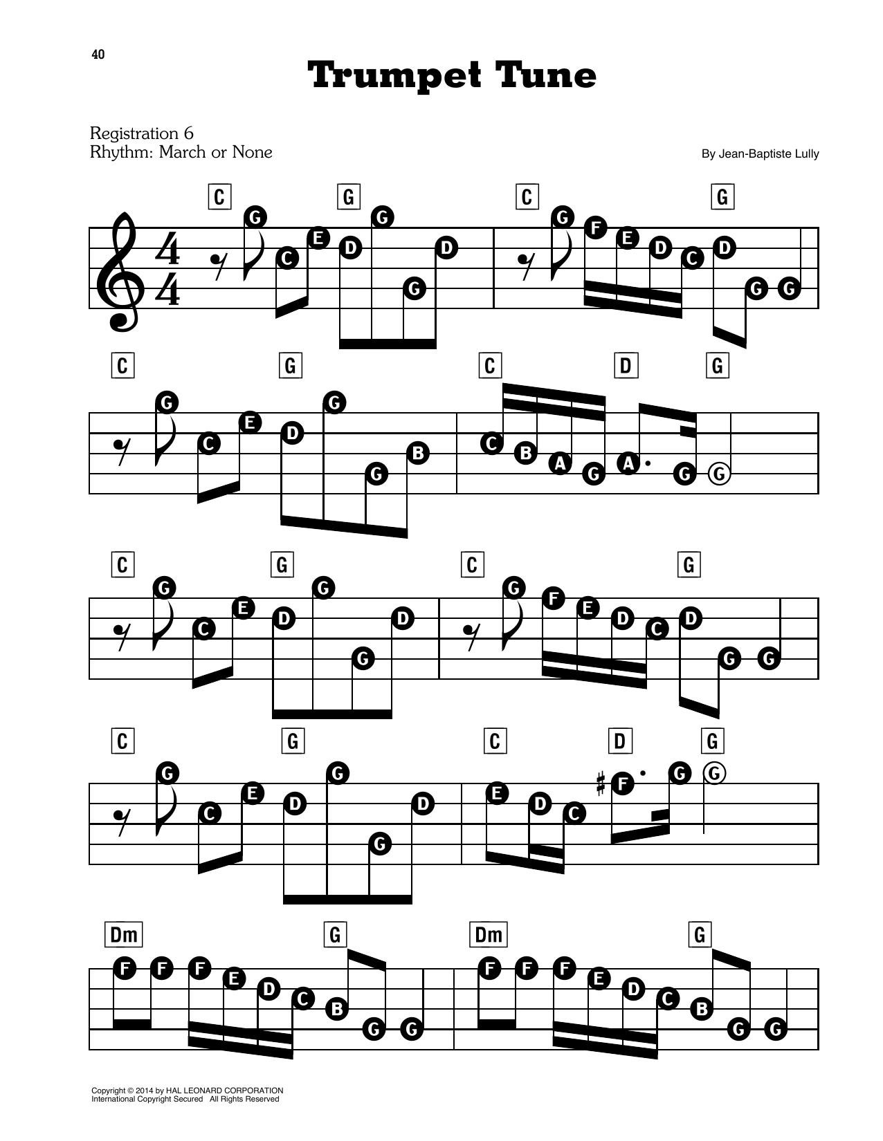 Trumpet Tune (E-Z Play Today)