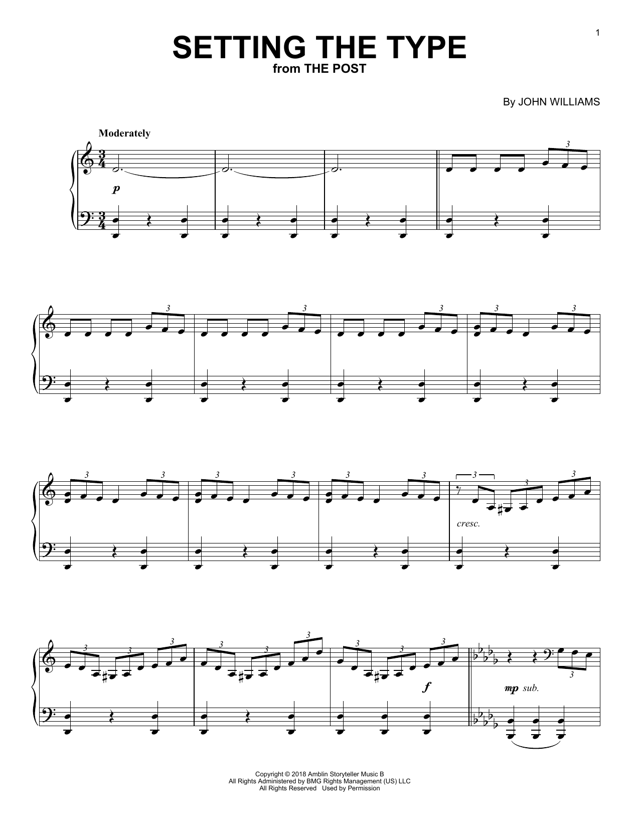 Setting The Type (Piano Solo)