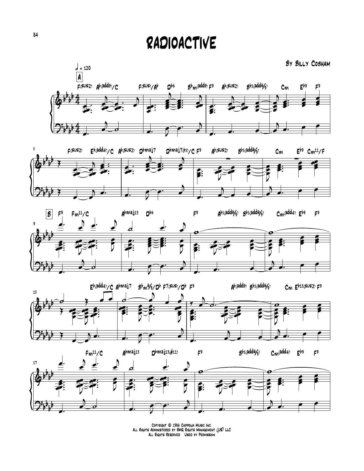 Radioactive (Piano Transcription)