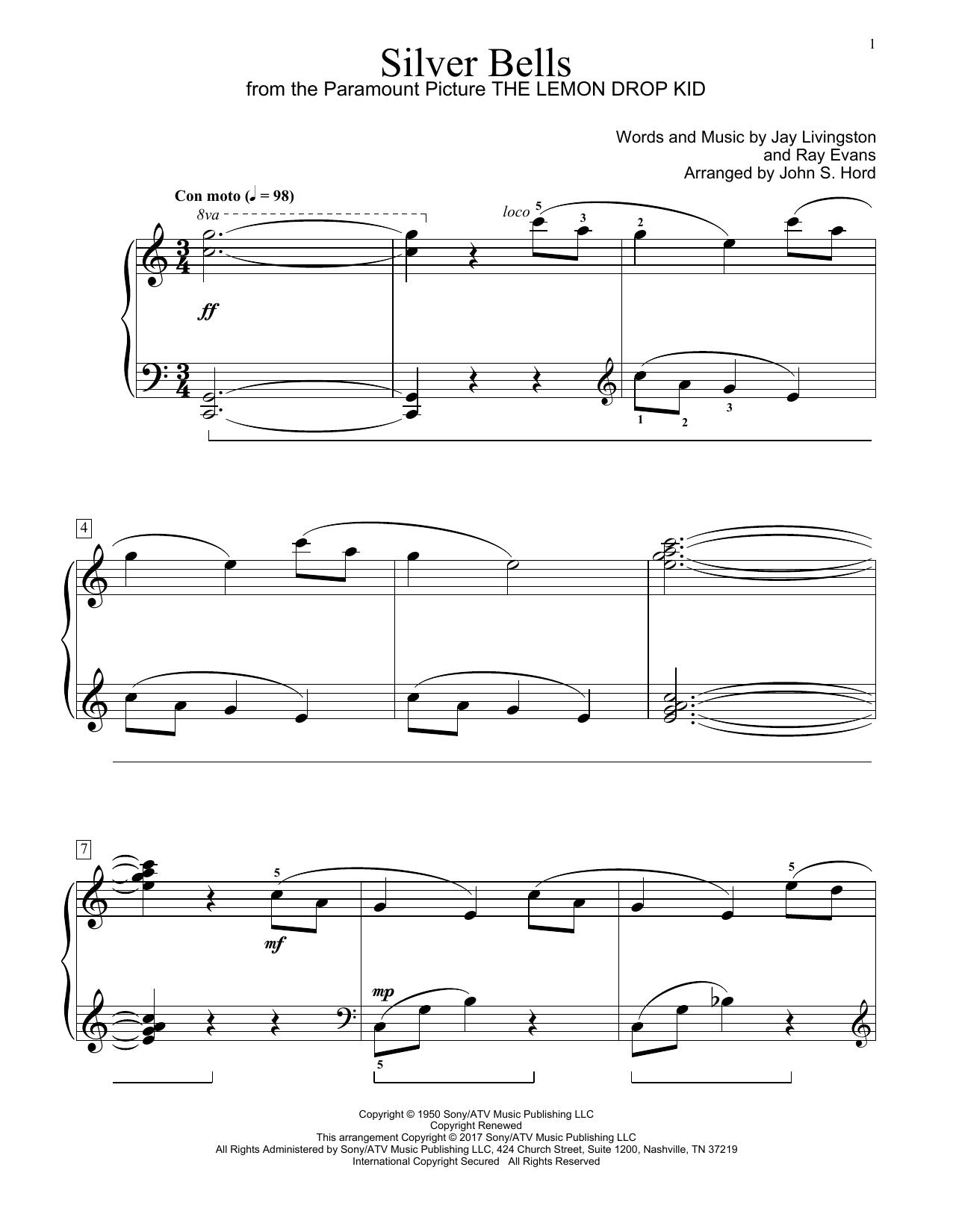Silver Bells (Educational Piano)