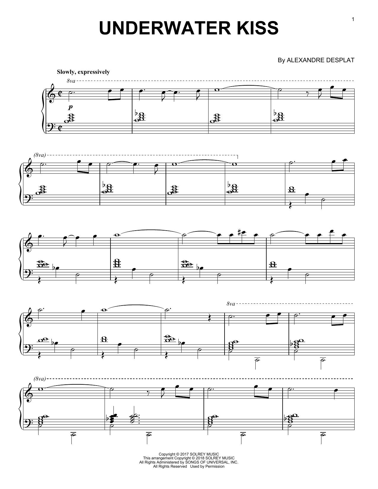 Underwater Kiss (Piano Solo)
