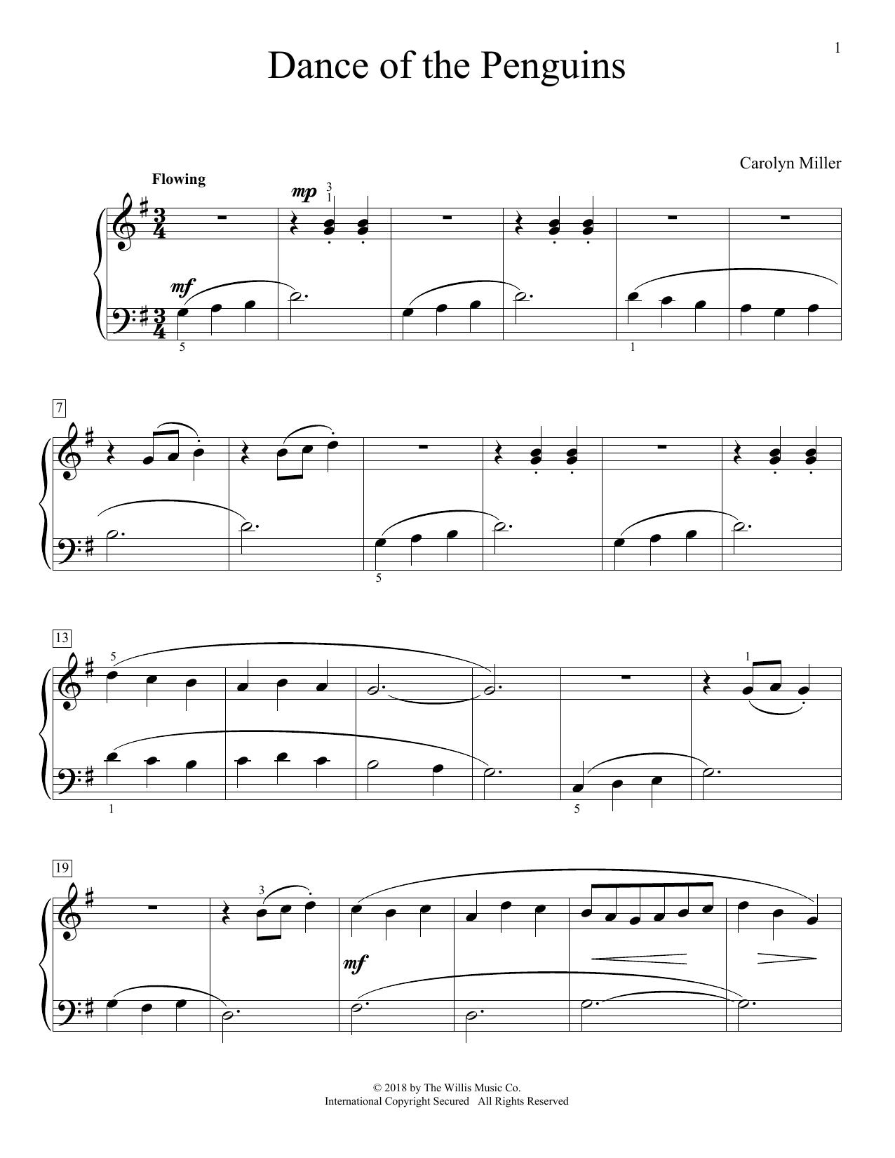 Dance Of The Penguins Sheet Music