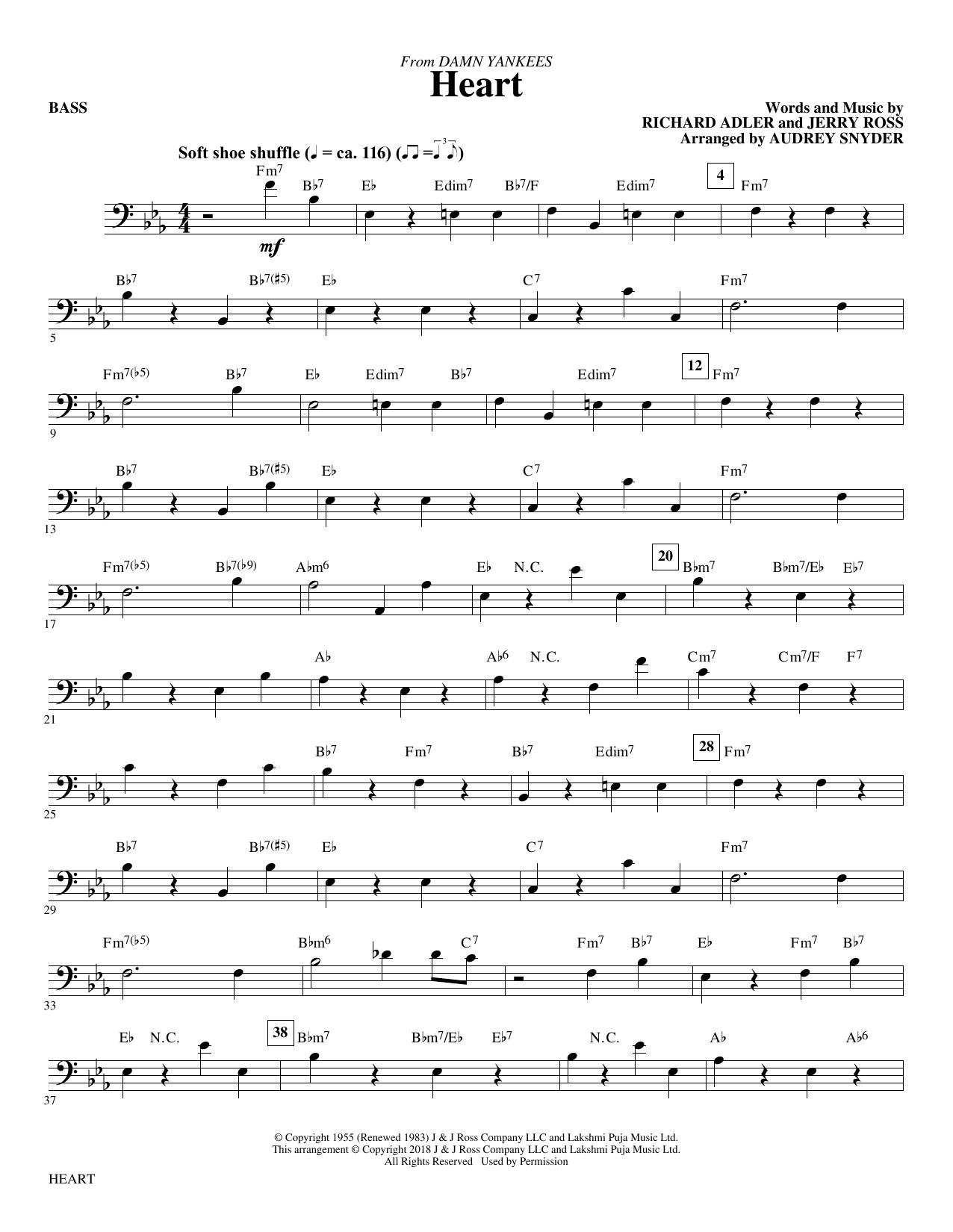 Heart - Bass (Choir Instrumental Pak)