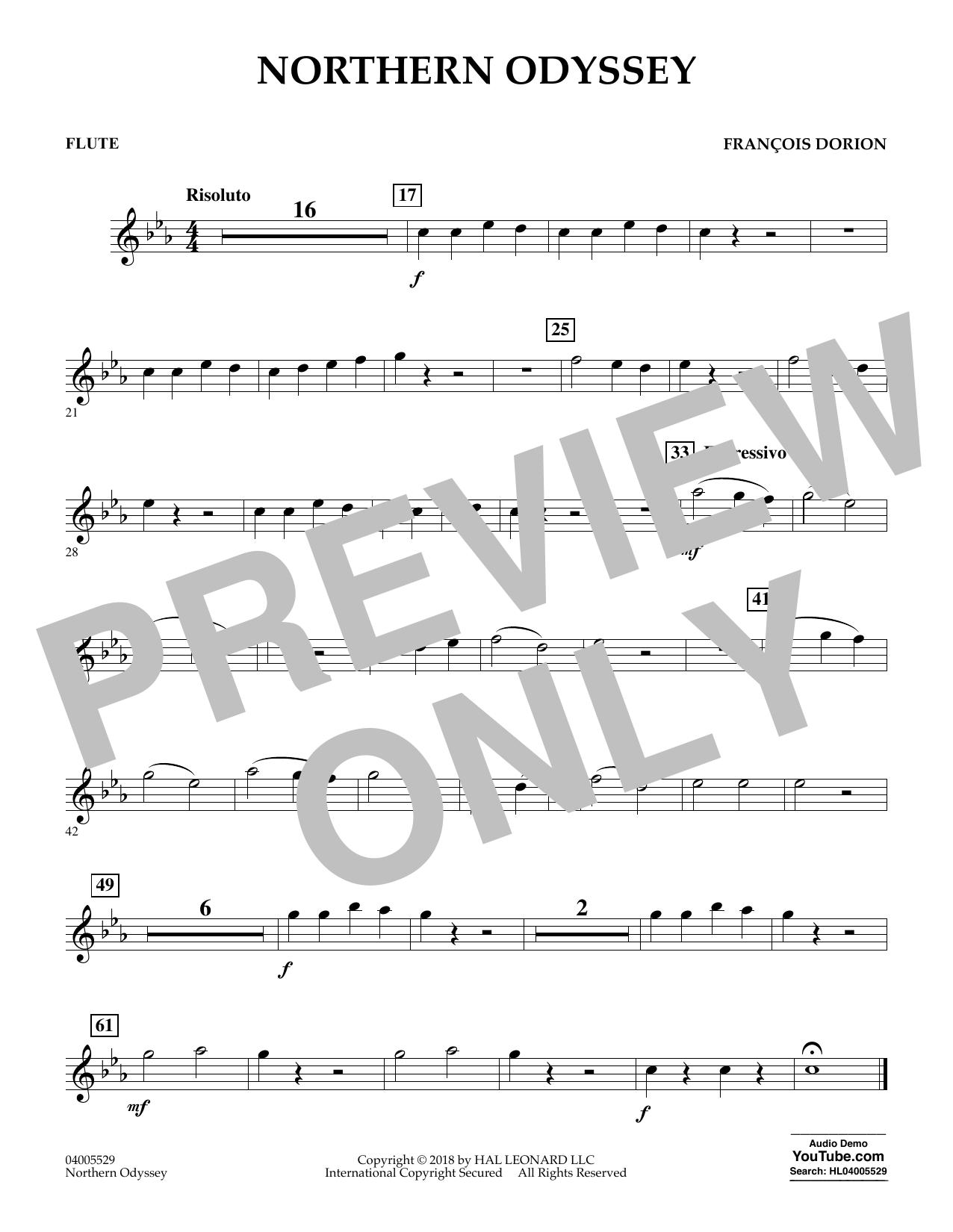 Northern Odyssey - Flute (Concert Band)