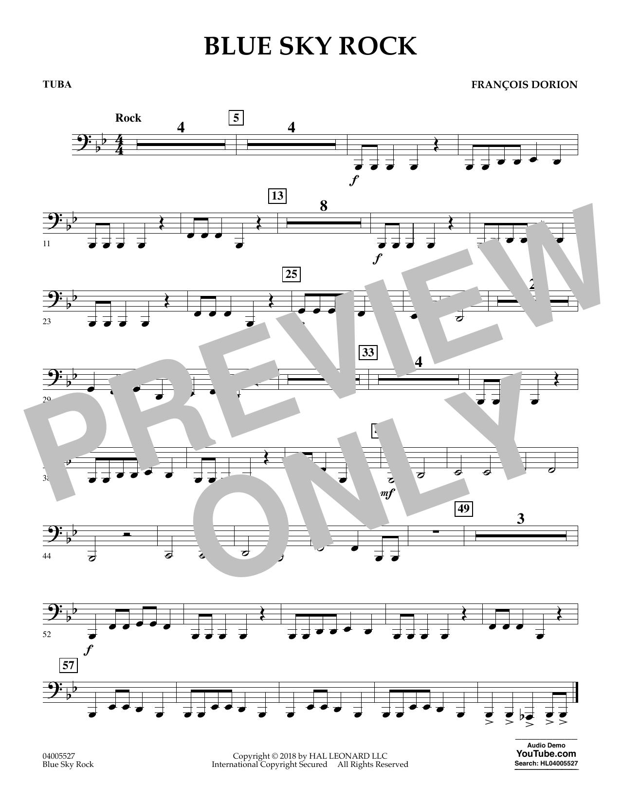 Blue Sky Rock - Tuba (Concert Band)