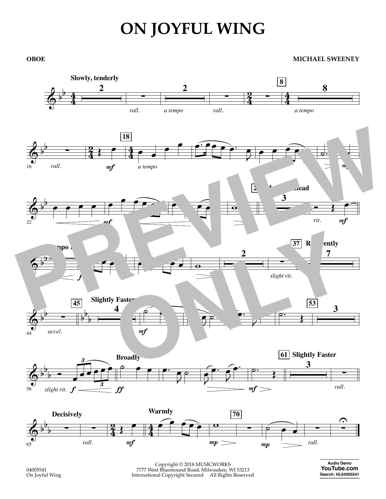 On Joyful Wing - Oboe (Concert Band)