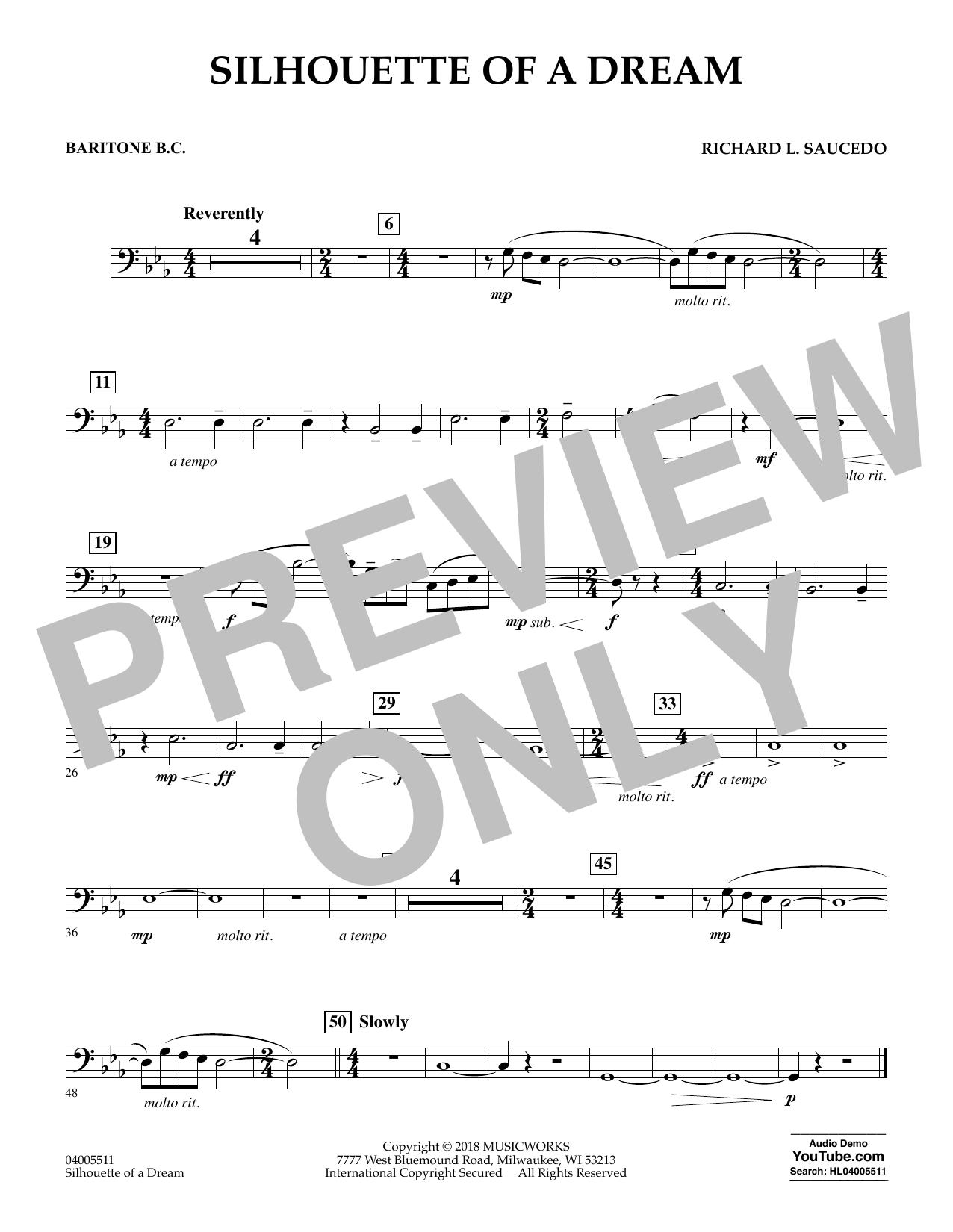 Silhouette of a Dream - Baritone B.C. (Concert Band)