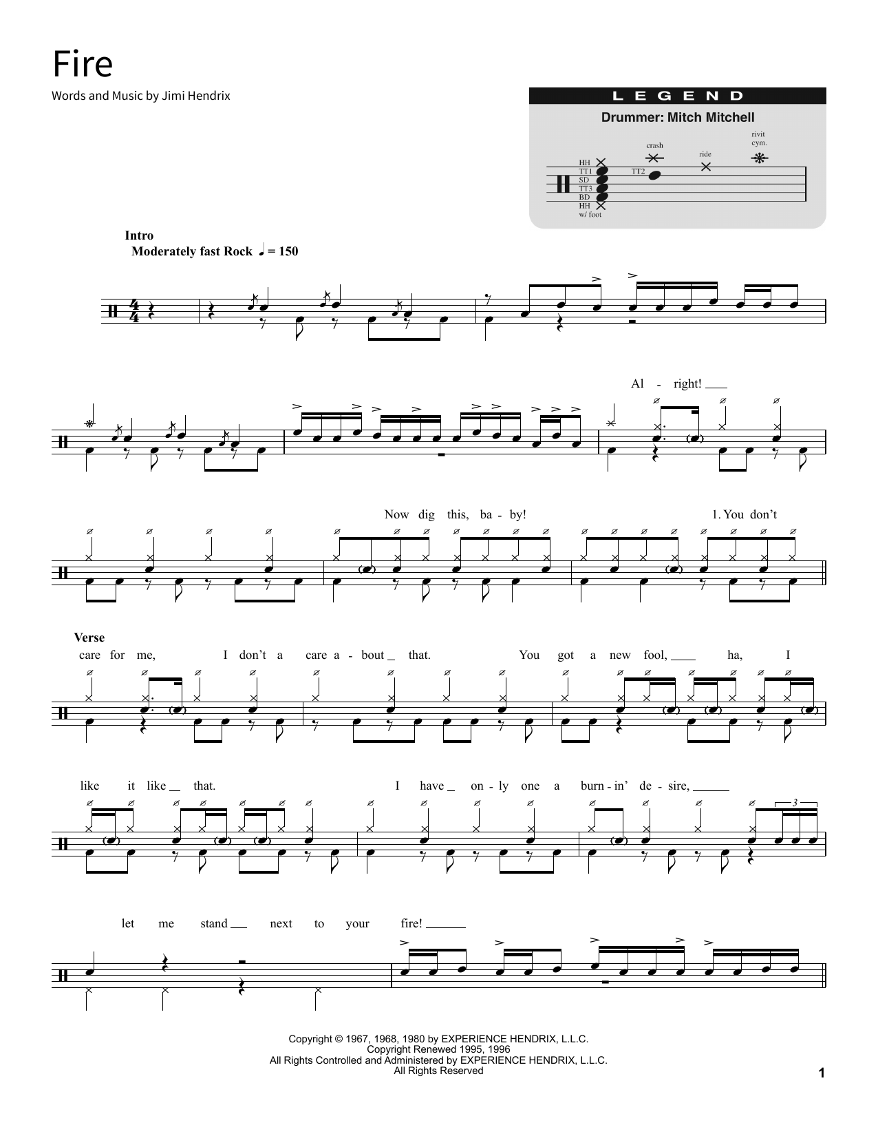Fire (School of Rock – Drums)
