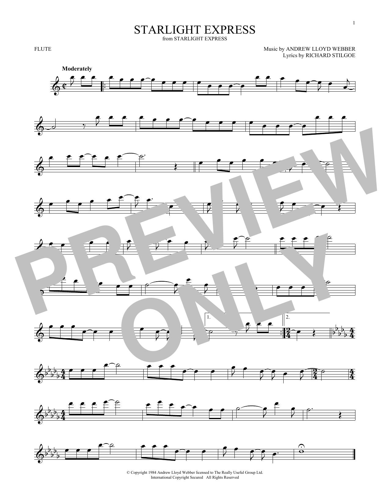 Starlight Express (Flute Solo)
