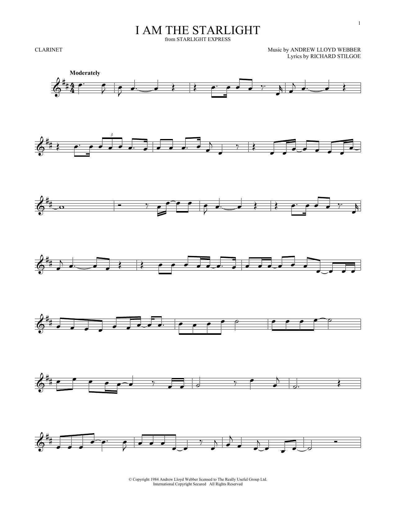 I Am The Starlight (Clarinet Solo)