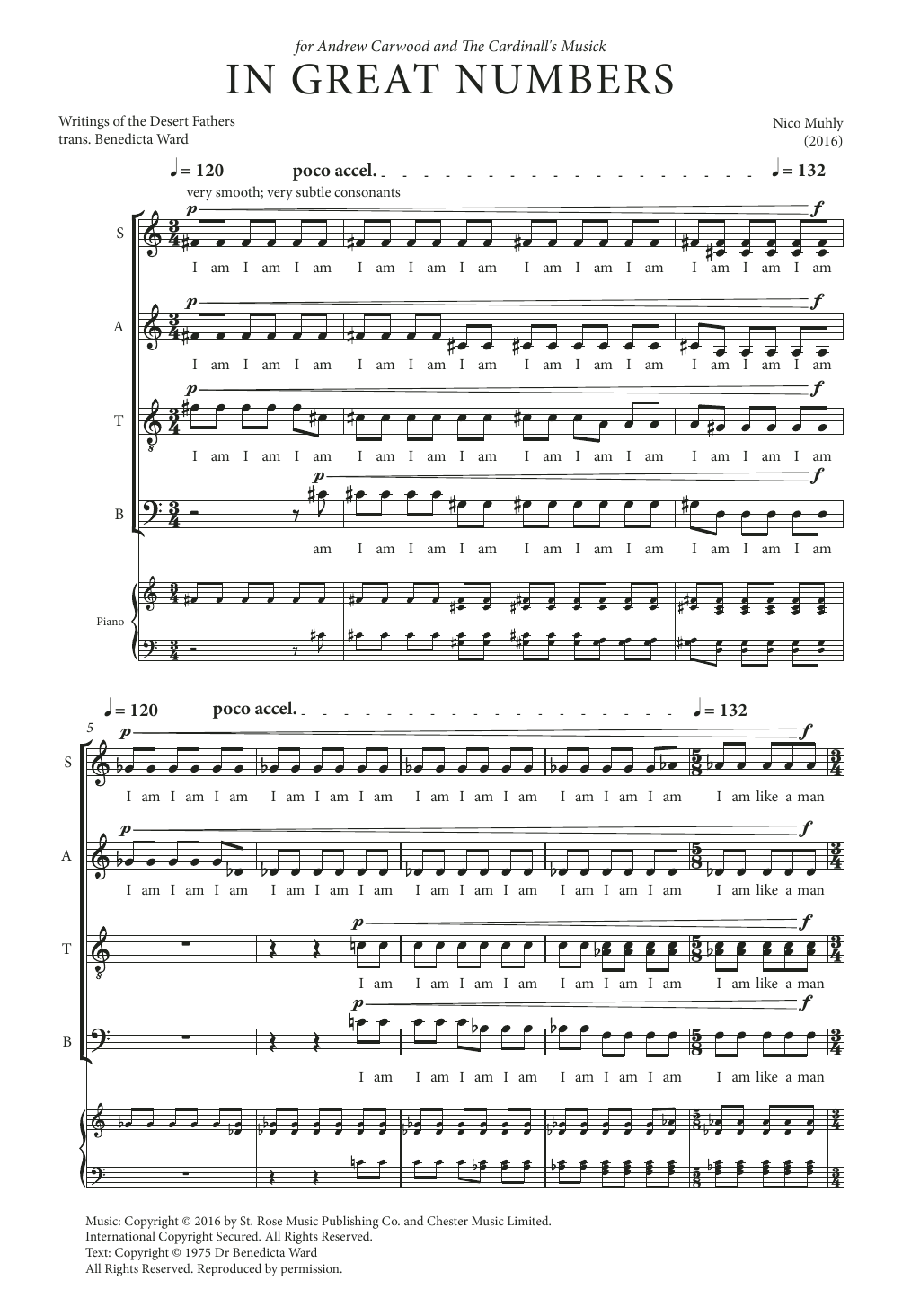 In Great Numbers Sheet Music