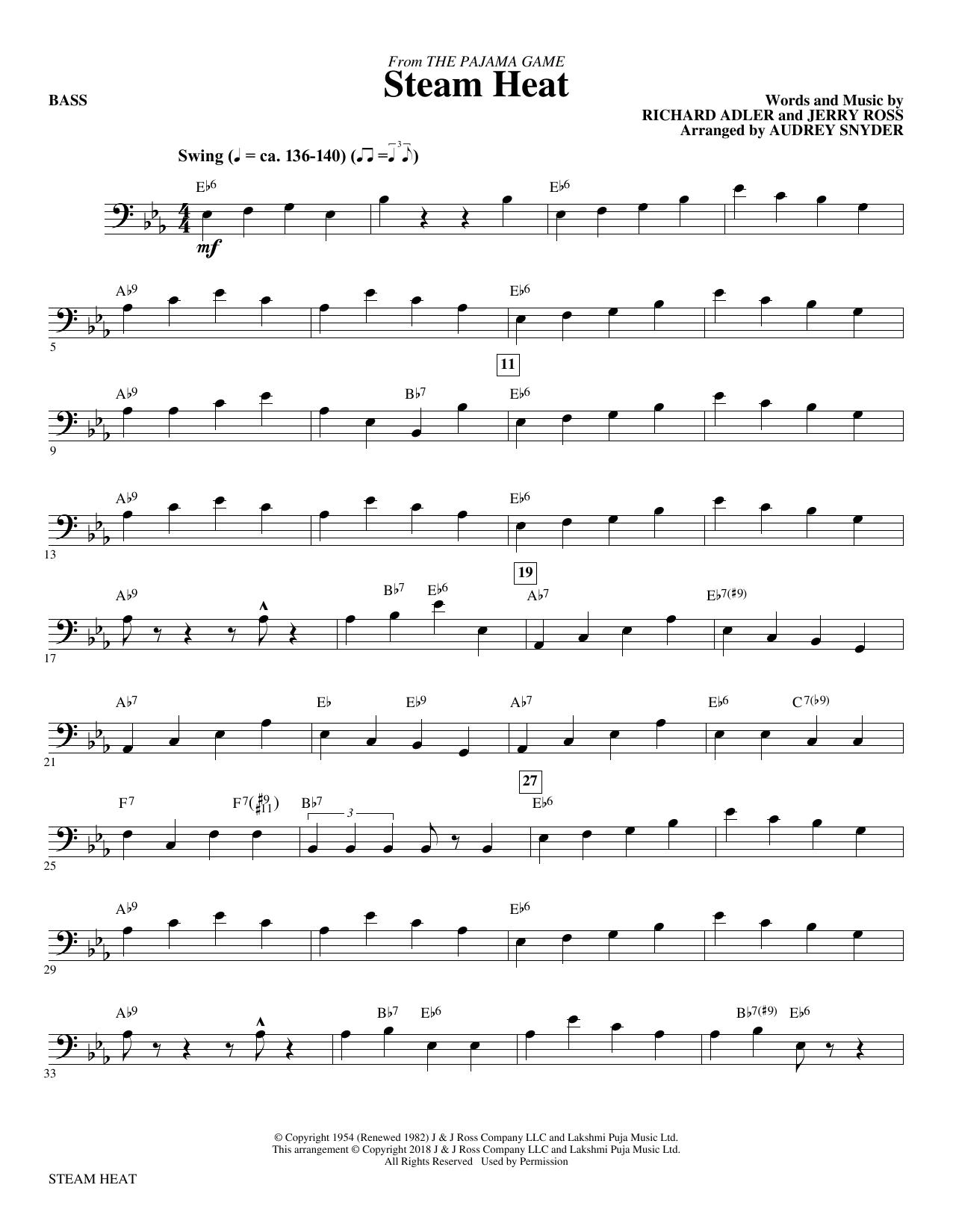 Steam Heat - Bass (Choir Instrumental Pak)