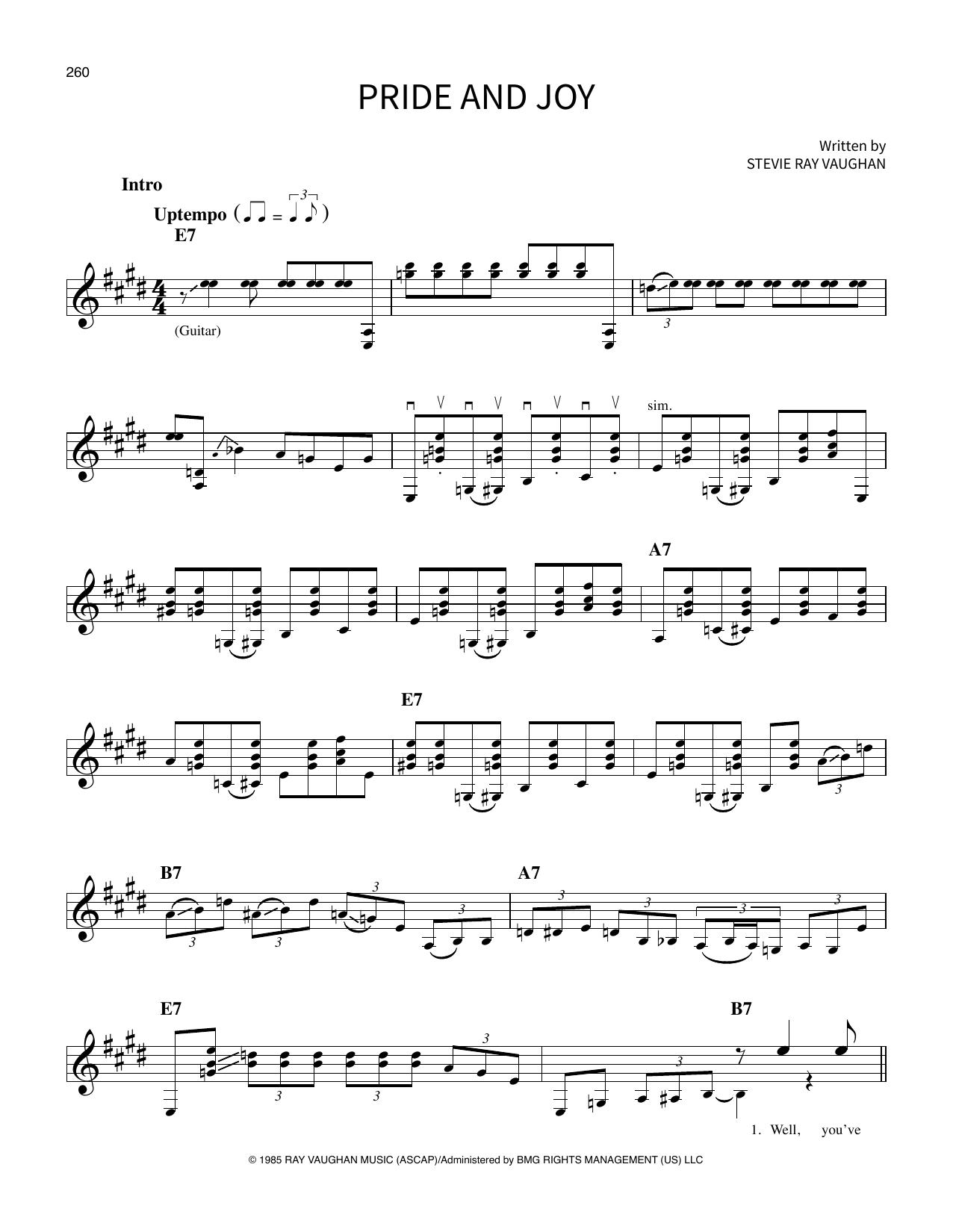 Pride And Joy (School Of Rock - Vocal)
