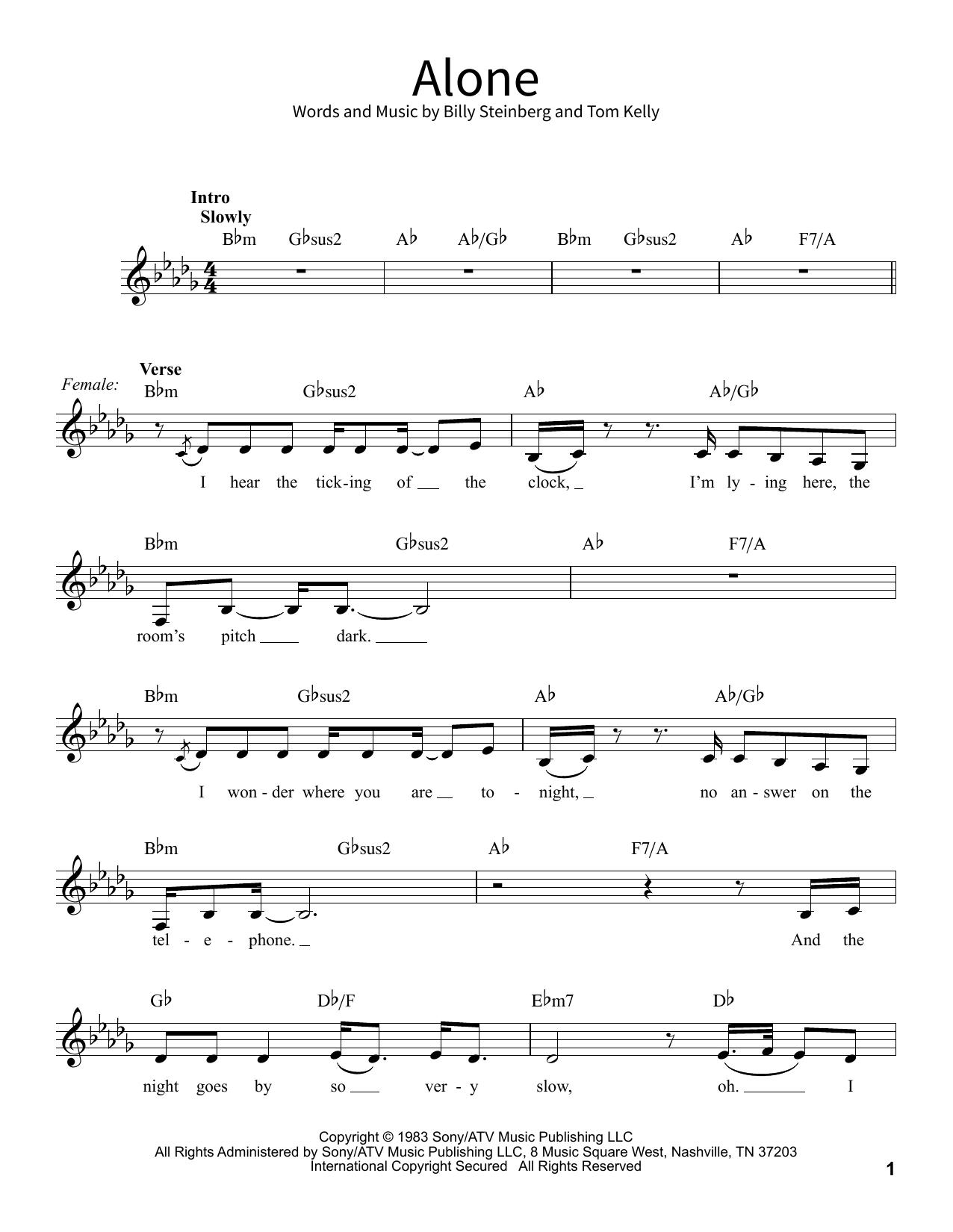 Alone (School of Rock – Vocal)