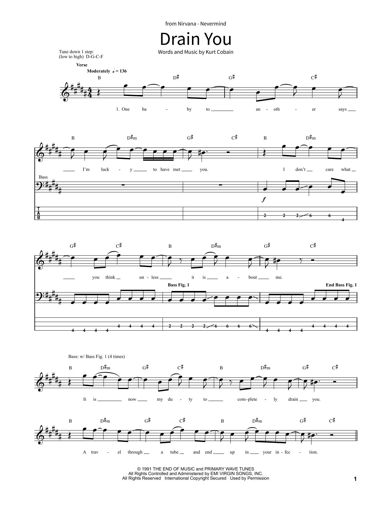 Drain You (School of Rock - Bass Guitar)