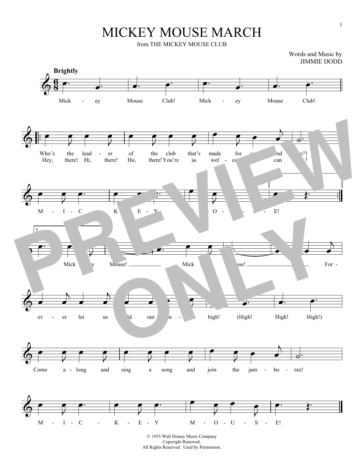 Mickey Mouse March (Ocarina)