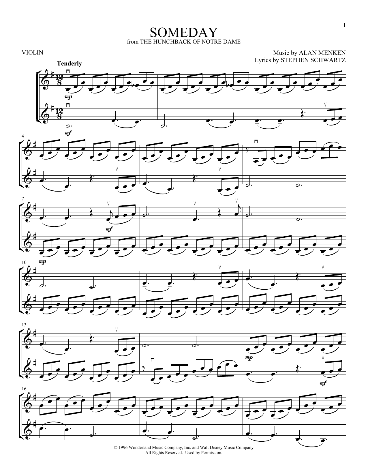 Someday (Violin Duet)